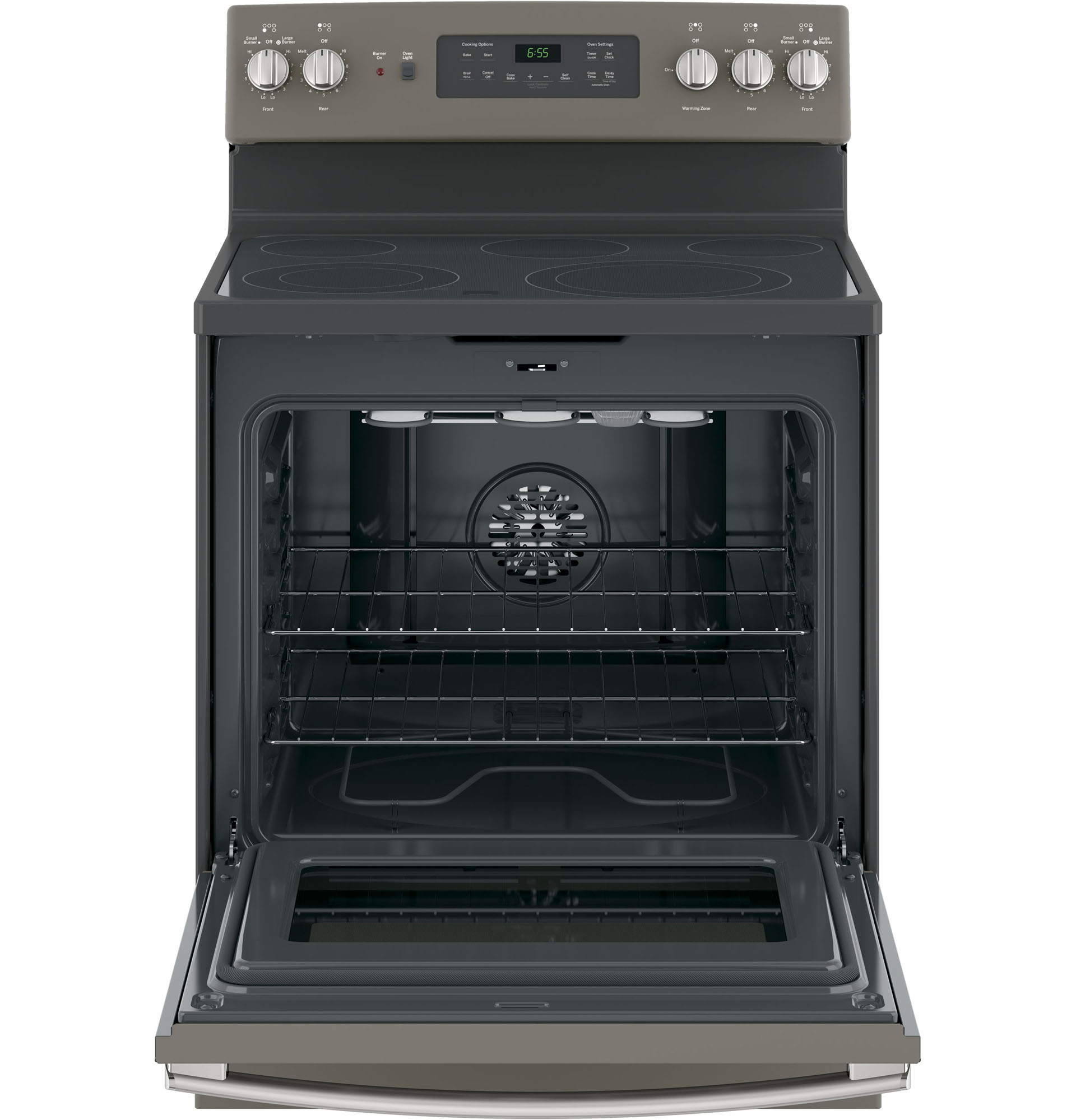 "GE Appliances JB655EKES 30"" Freestanding Electric Range - Slate"