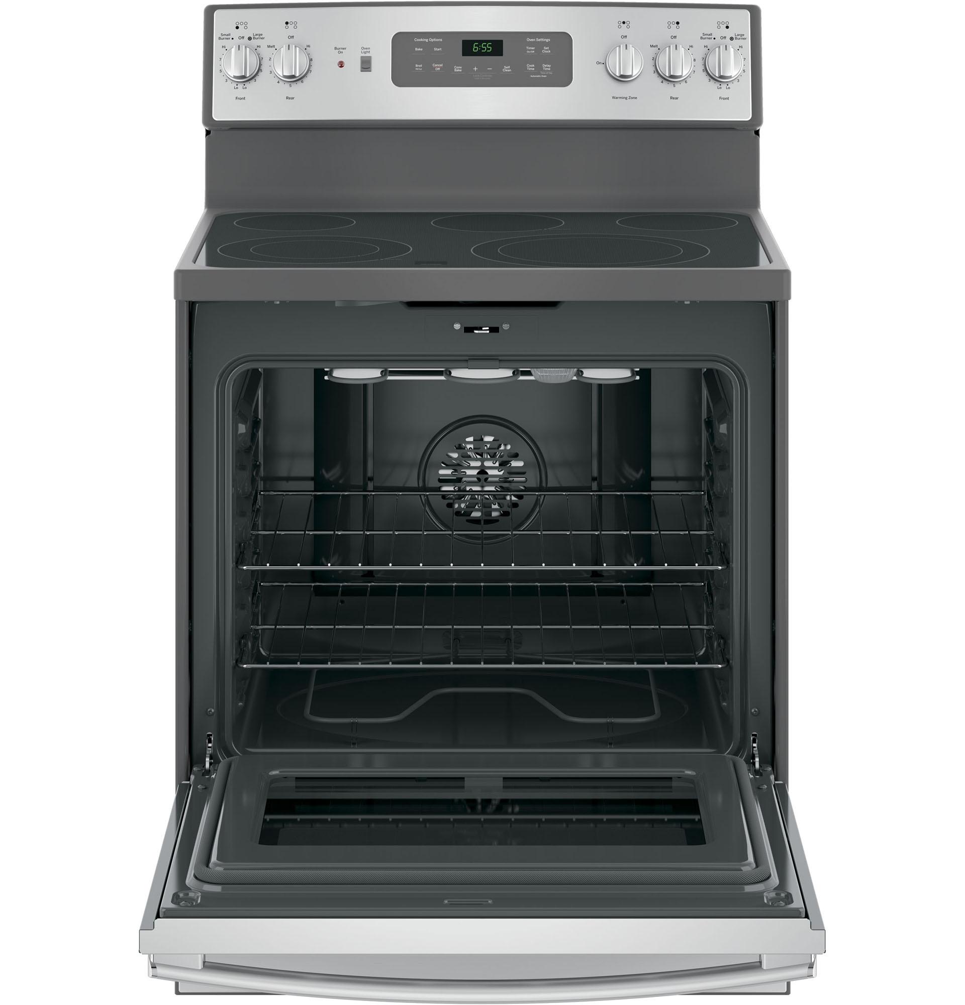 "GE Appliances JB655SKSS 30"" Freestanding Electric Range - Stainless Steel"