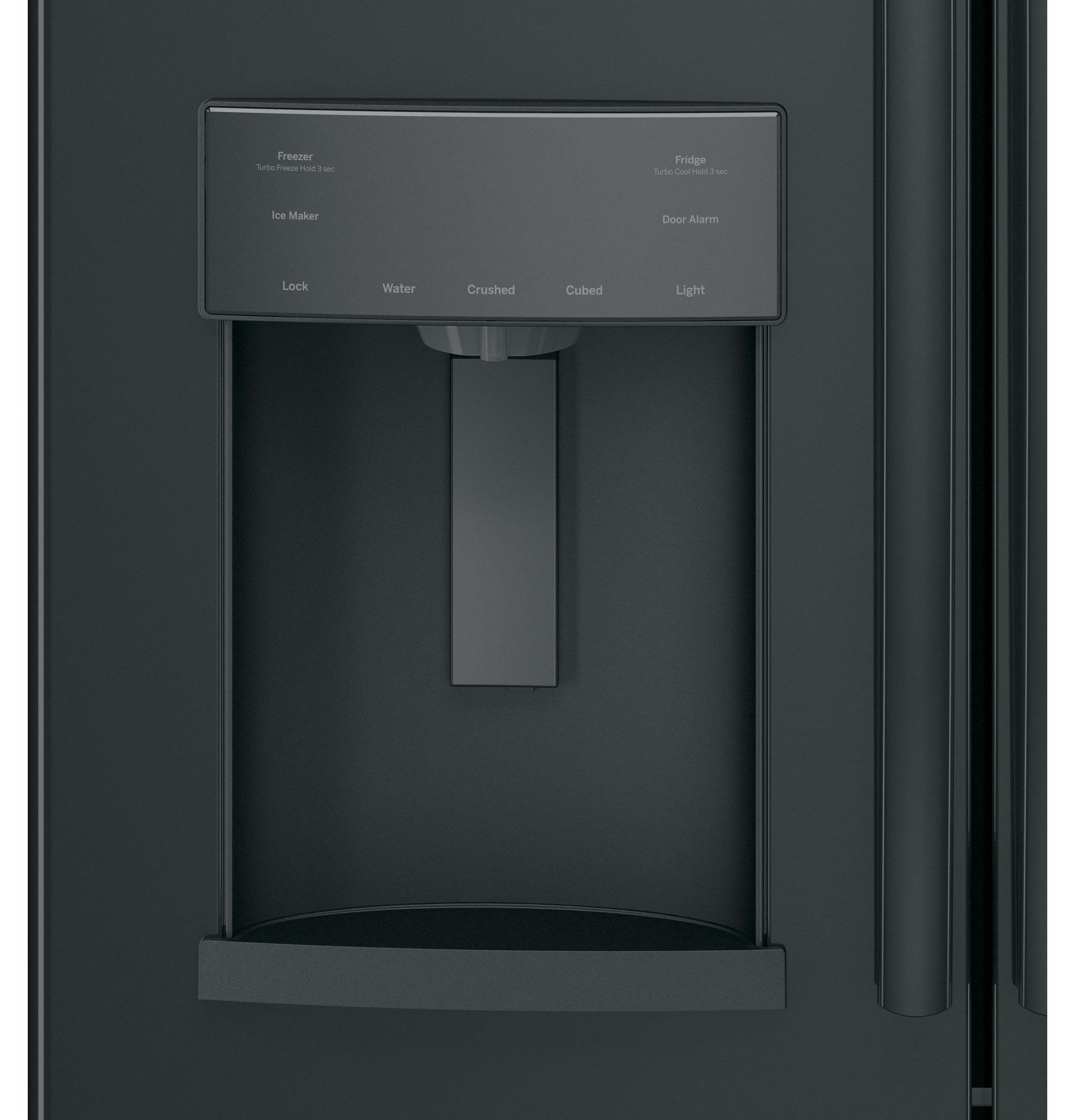 GE Appliances GFE28GGKBB 27.8 cu. ft. French Door Refrigerator - Black