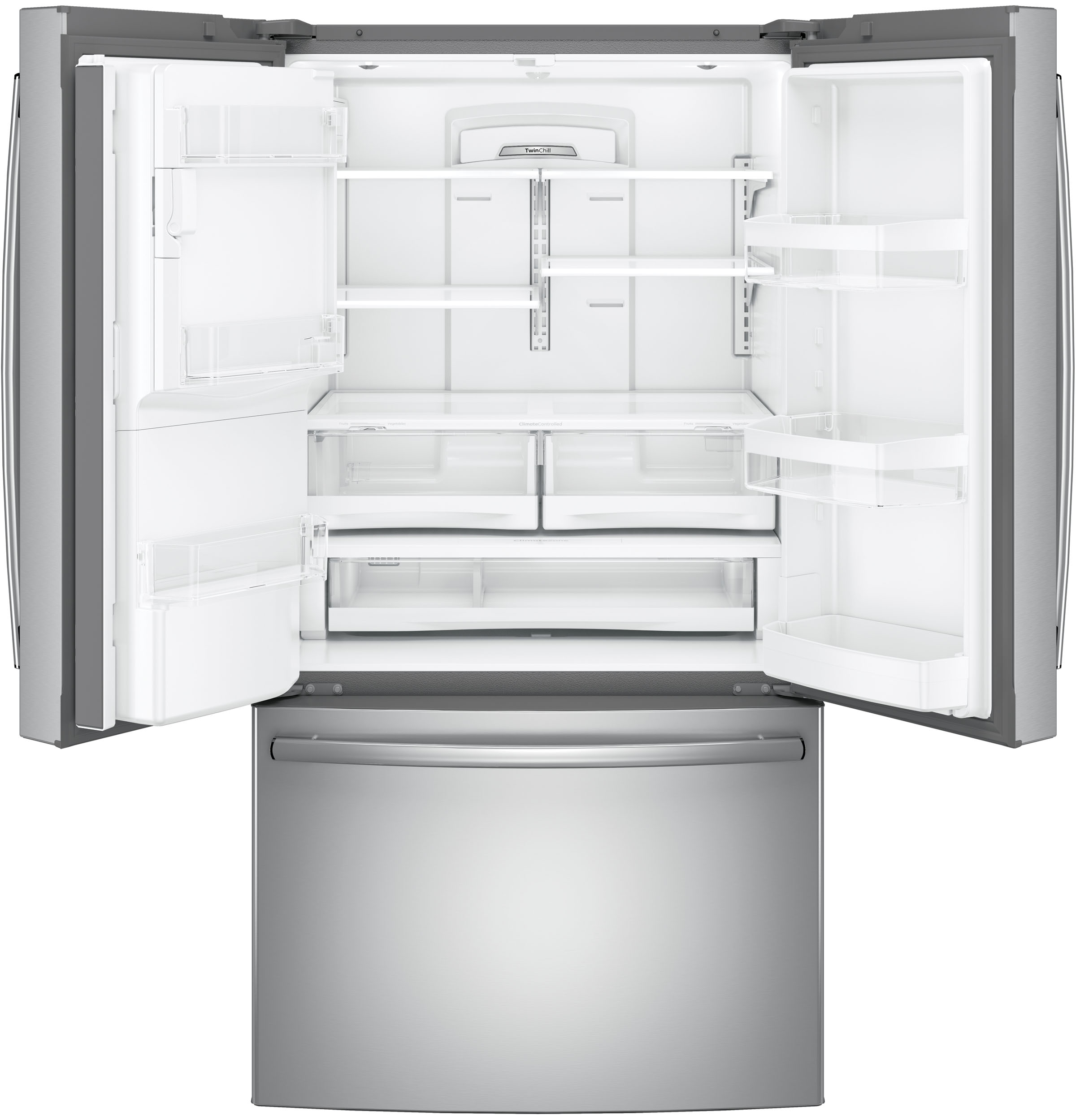 GE Appliances GFE28GSKSS 27.8 cu. ft. French Door Refrigerator - Stainless Steel