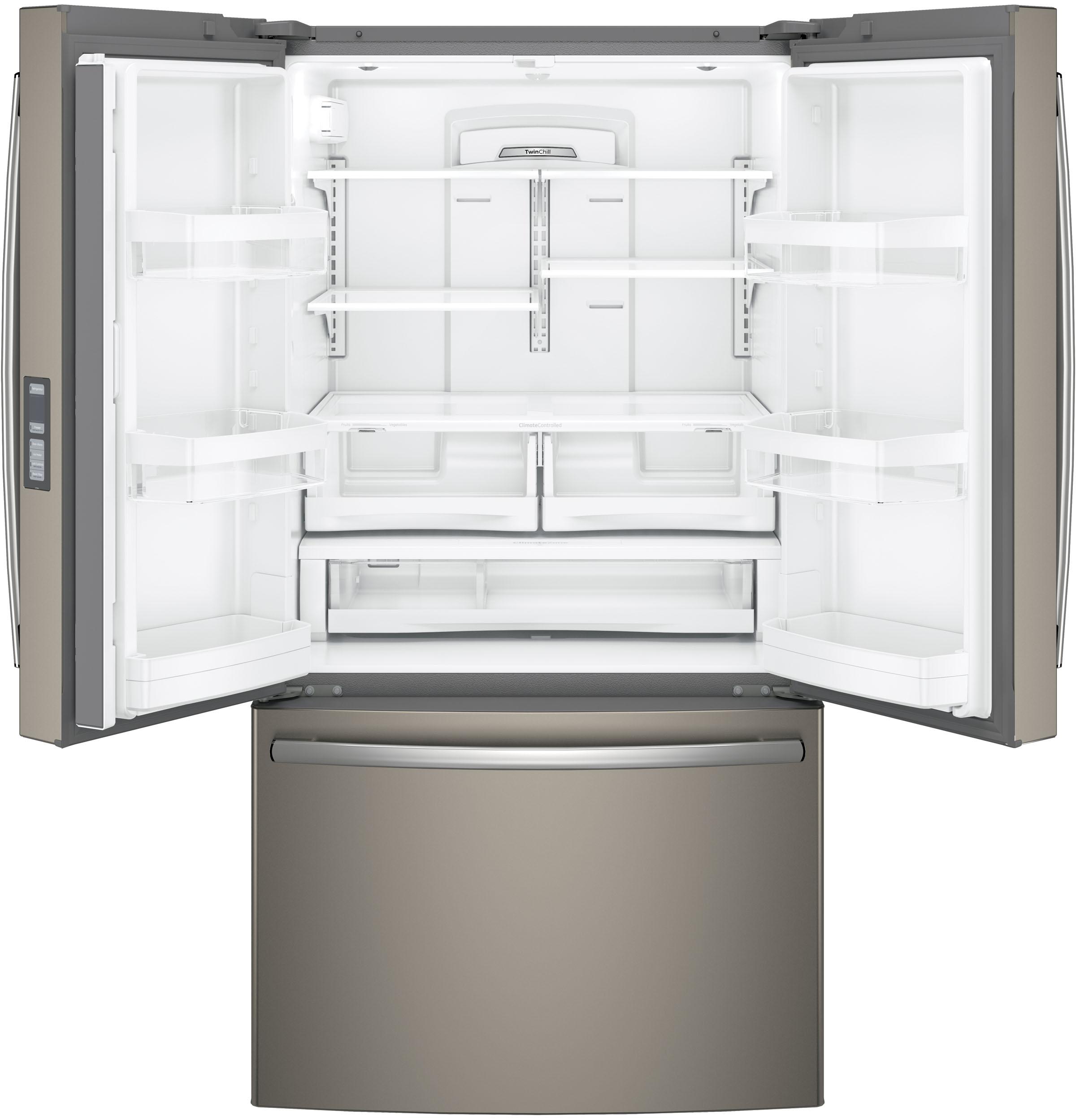 GE Appliances GNE29GMKES 28.7 cu. ft. French Door Refrigerator - Slate
