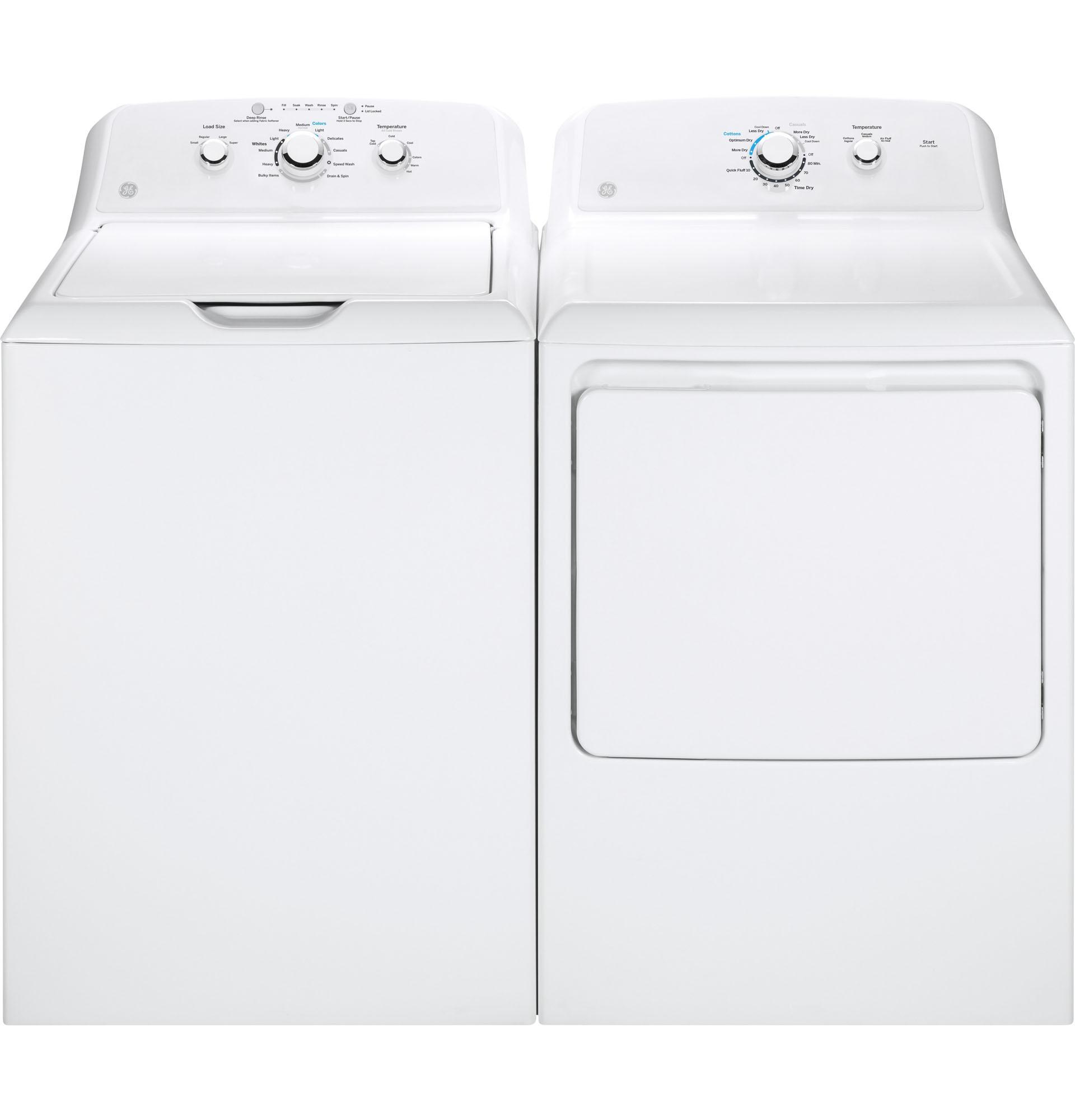 GE Appliances GTX33EASKWW 6.2 cu. ft. Electric Dryer - White
