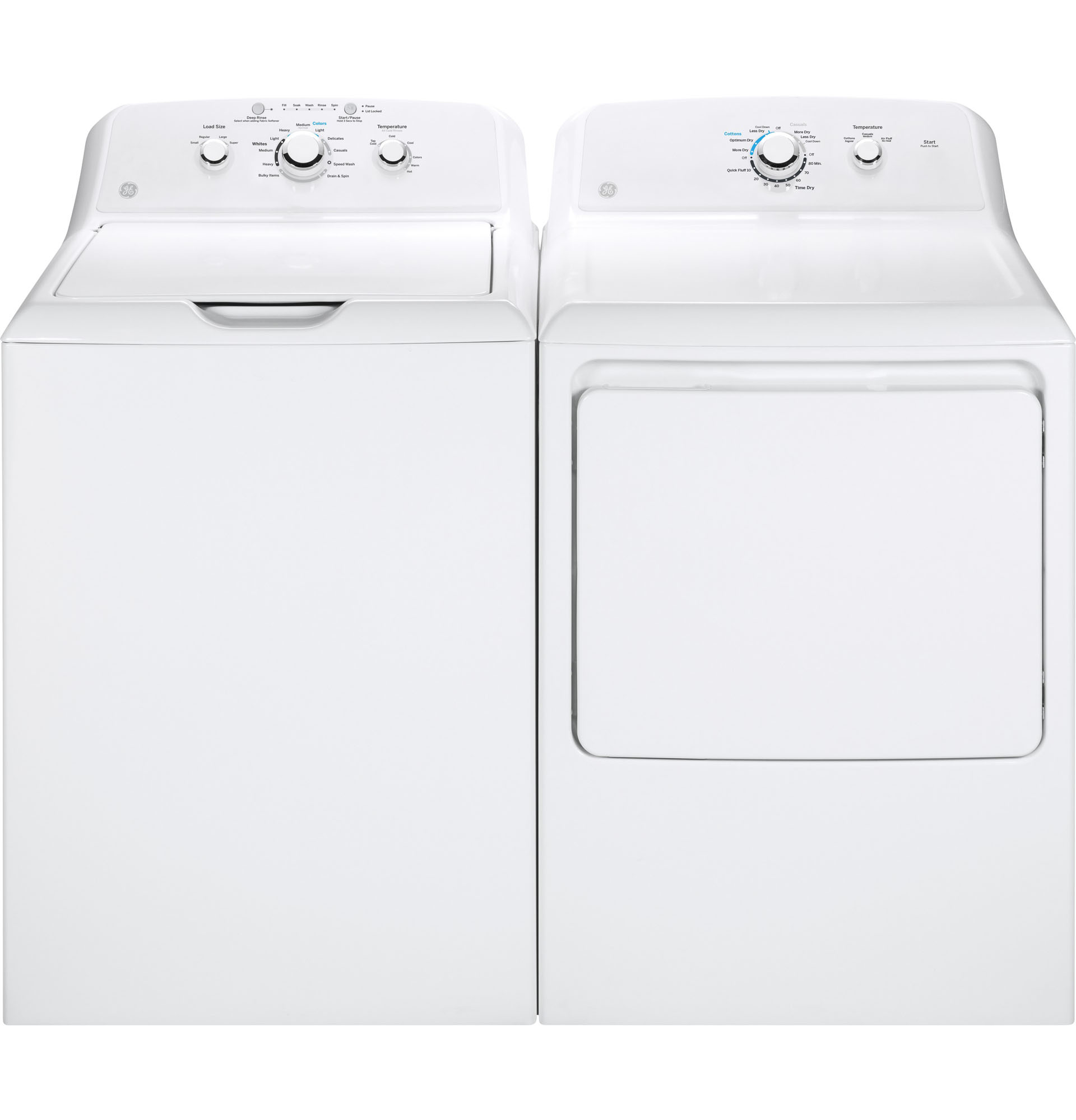 GE Appliances GTW330ASKWW 3.8 cu. ft. Top Load Washer - White