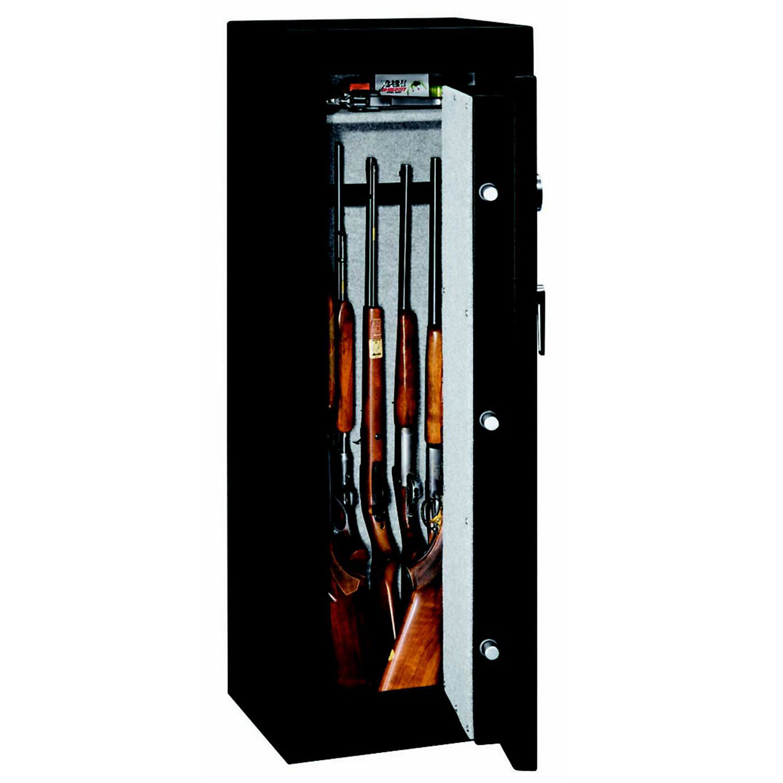 Stack-On 8-Gun Fire Rated Safe with Electronic Lock and Adjustable Shelf