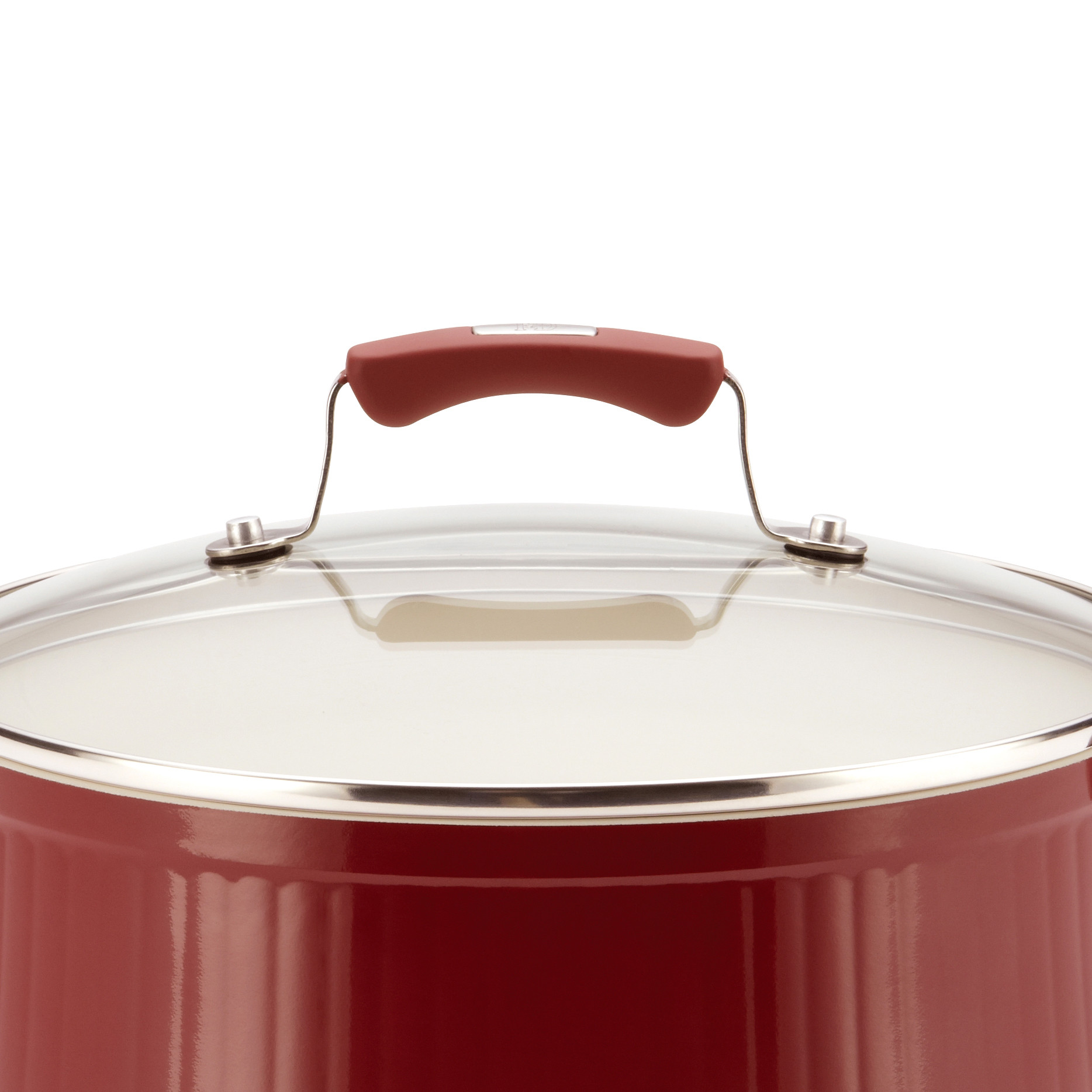 Paula Deen® Savannah 18-Piece Expansion  Aluminum Nonstick Cookware Set, Red