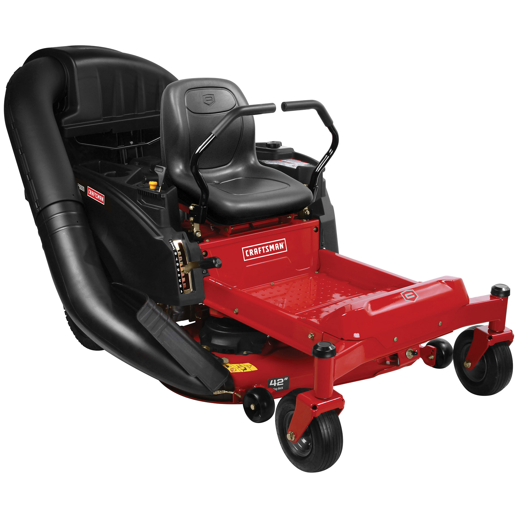 """Craftsman 42"""" 22hp V-Twin Briggs and Stratton Zero Turn Riding Mower - CA Only"""