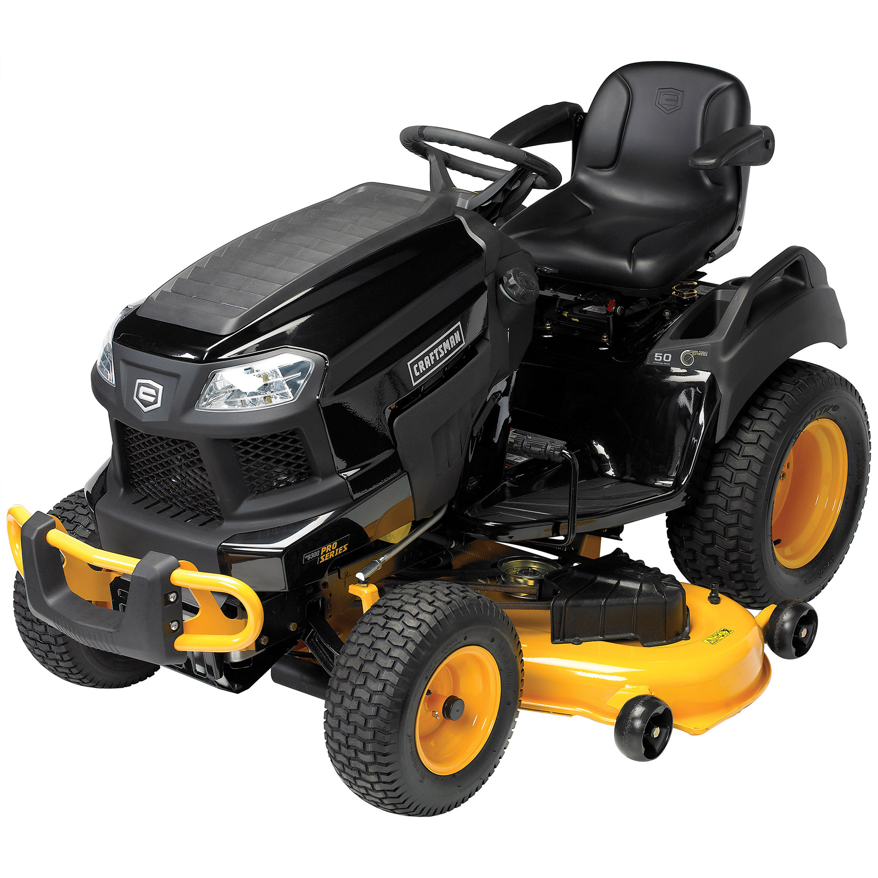 """Craftsman Pro Series 50""""  26 HP V-Twin Kohler Garden Tractor with Turn Tight® Extreme"""