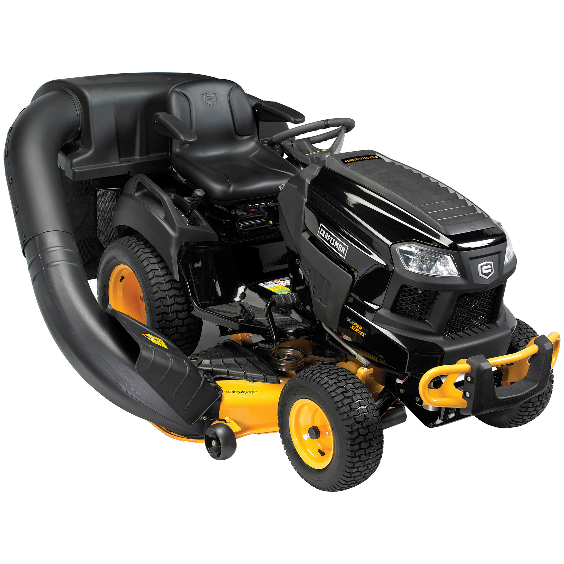 """Craftsman Pro Series 54"""" 26 HP V-Twin Kohler Power Steering Garden Tractor with Turn Tight® Extreme"""