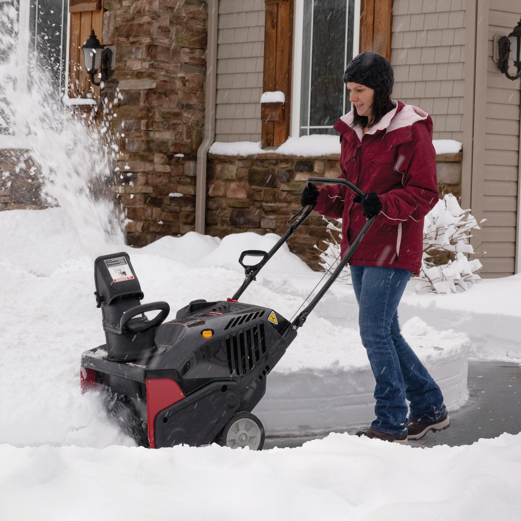 "Craftsman 21"" 179cc* Single-Stage Snowblower w/ Electric Start"