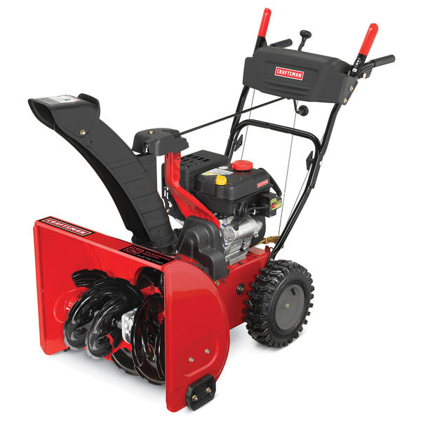 Two Stage Blower : Craftsman quot cc dual stage snowblower sears
