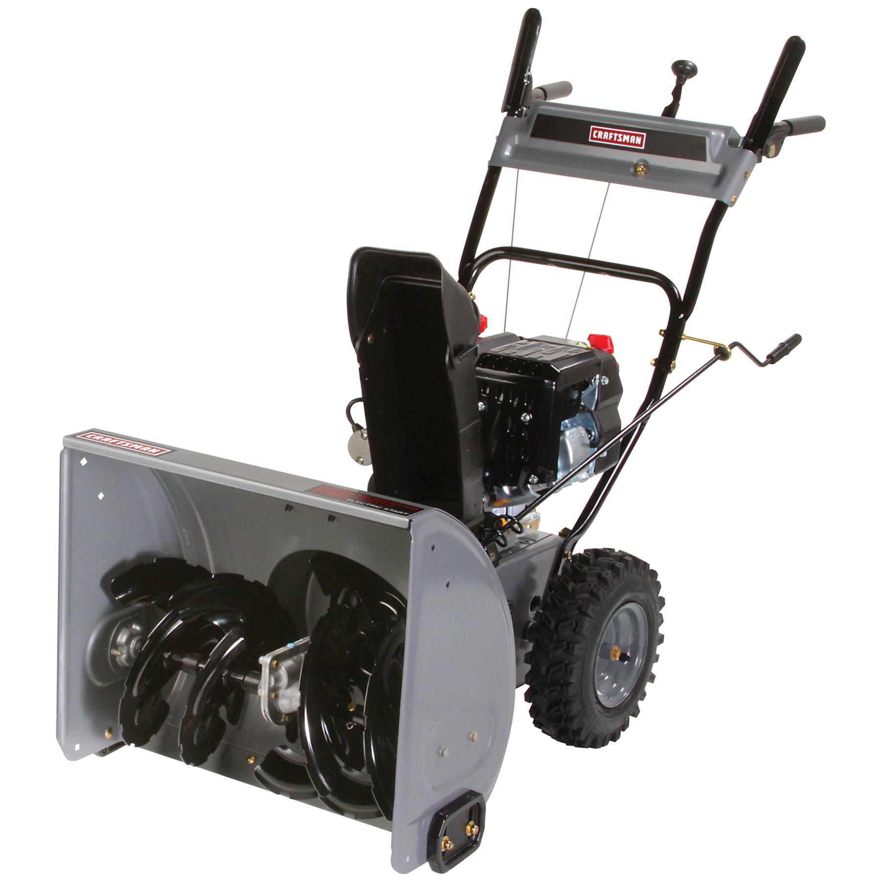 "Craftsman 24"" 179cc Dual-Stage Snowblower"