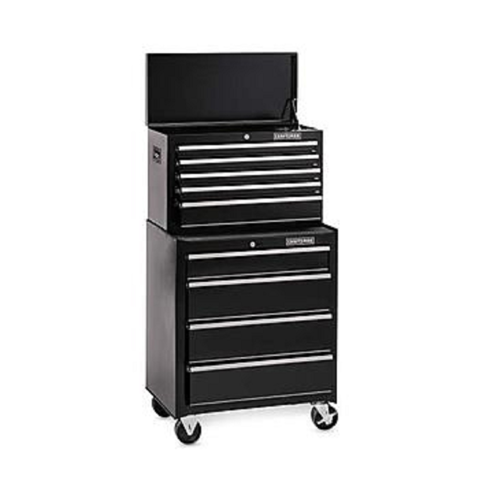 Craftsman 26 in. Wide 9-Drawer Ball-Bearing GRIPLATCH Combo