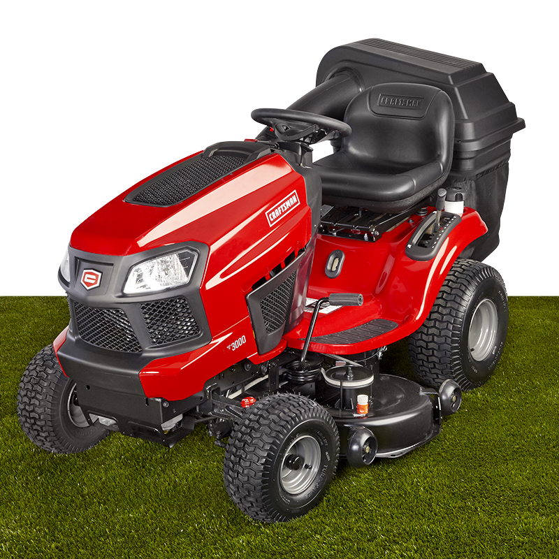 "Craftsman 42"" Fast Auto 22HP Briggs & Stratton Turn Tight® V-Twin Riding Mower"
