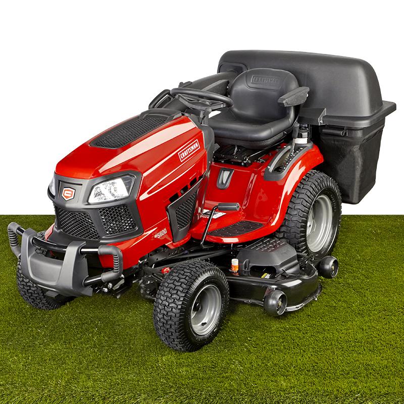 """Craftsman 54"""" Fast Auto 24 HP Briggs & Stratton V-Twin Turn Tight® Garden Tractor"""