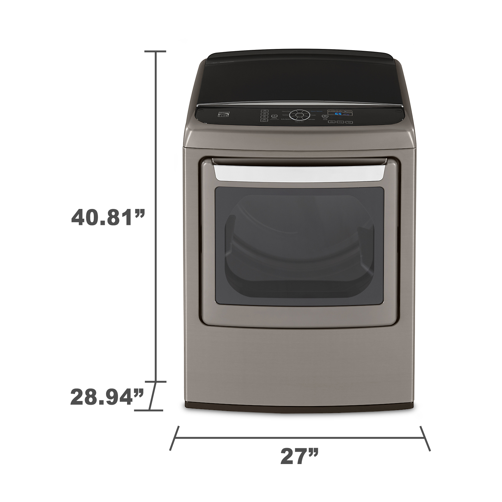 Kenmore Elite 7.3 cu. ft. Gas Dryer w/ Steam - Metallic Silver