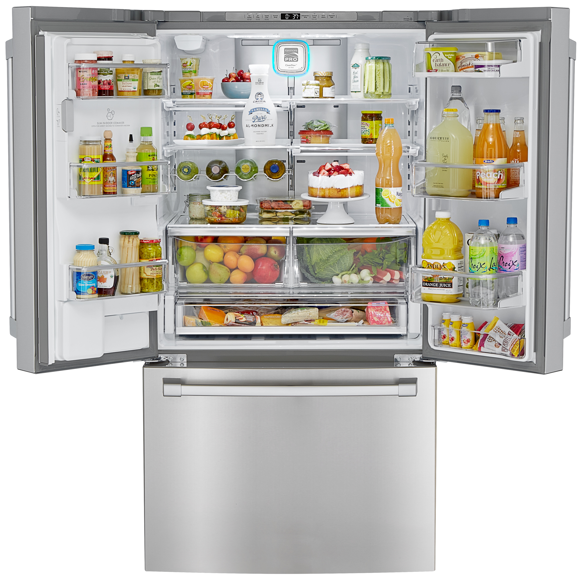 Kenmore Pro 79993 23.7 cu. ft. Counter-Depth French Door Refrigerator w/ Pro Style