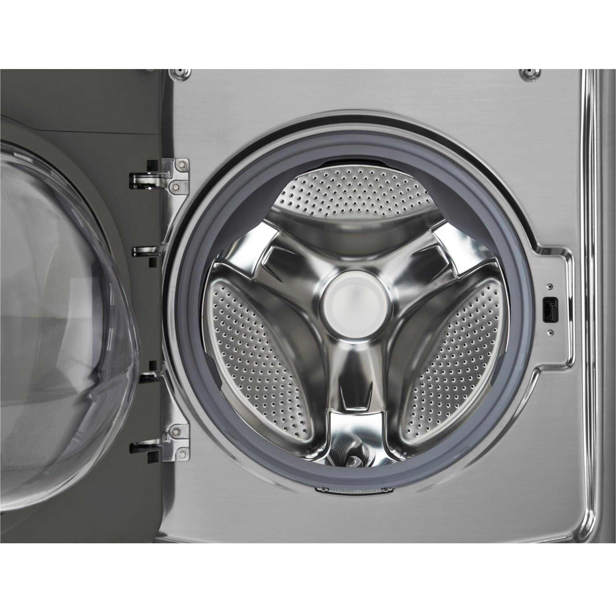 LG WM5000HVA 4.5 cu. ft. Ultra-Large Capacity Front Load Washer w/ TurboWash® Technology – Graphite Steel