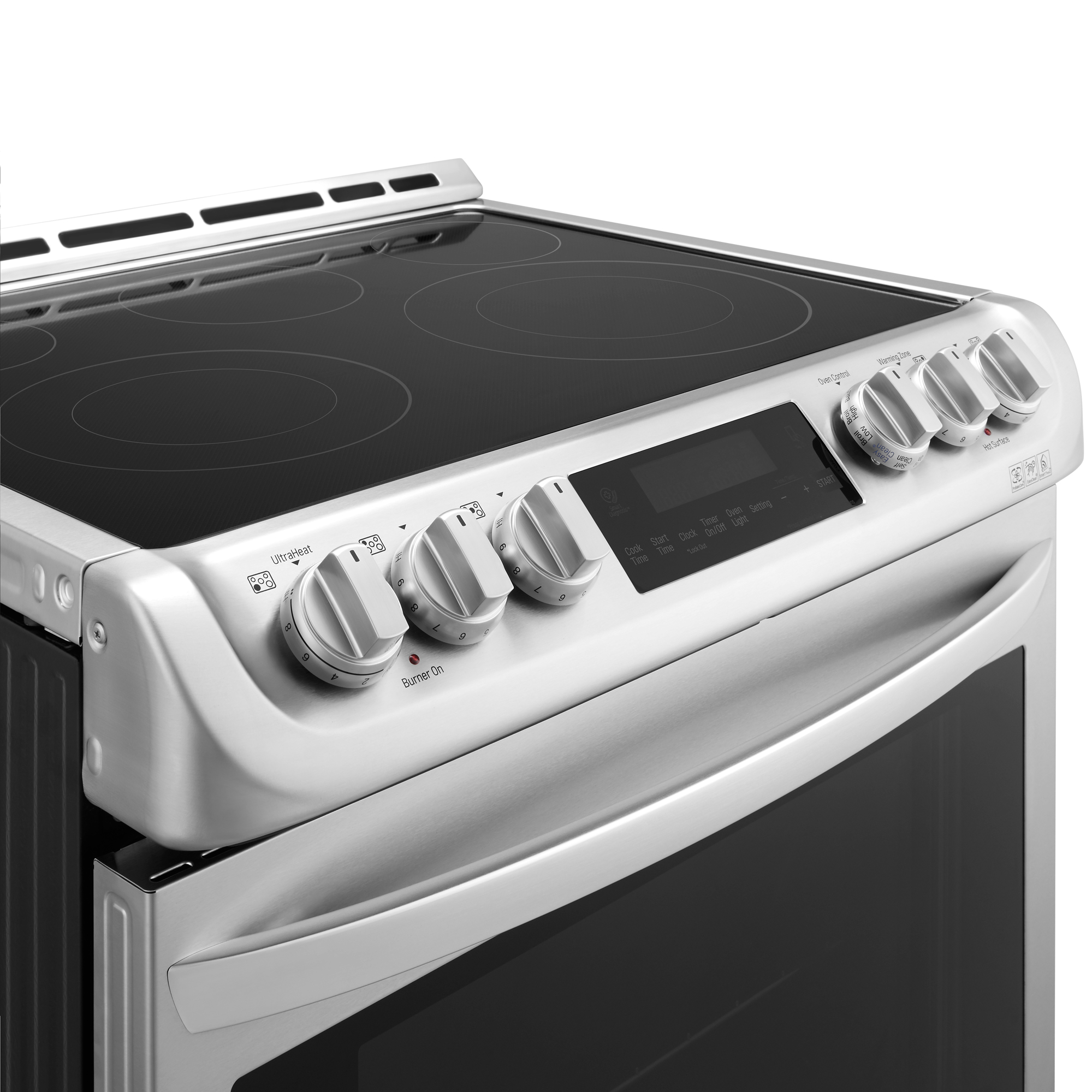 LG LSE4613ST 6.3 cu. ft. Electric Slide-In Range w/ ProBake Convection™ & EasyClean® – Stainless Steel