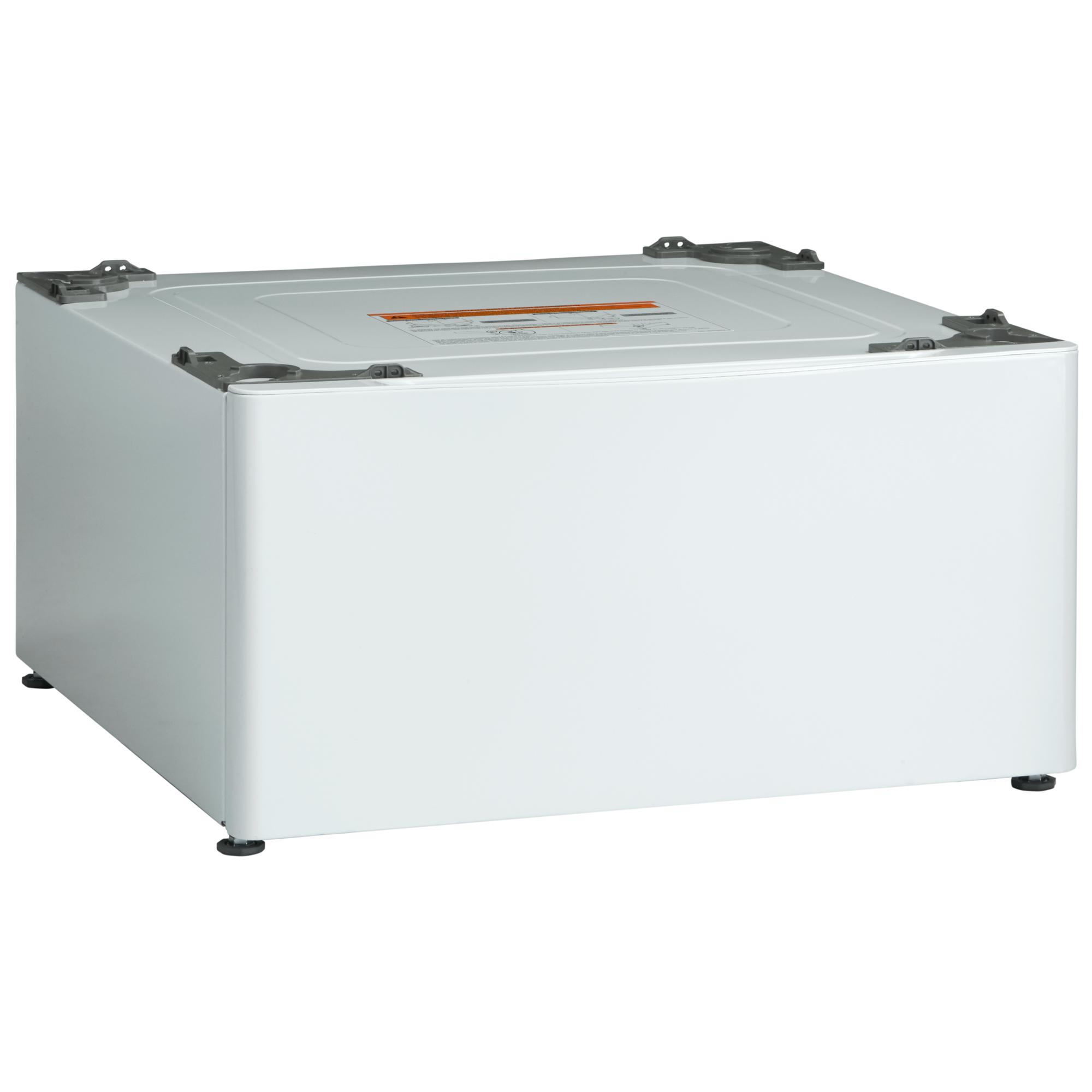 "Kenmore 13.7"" Laundry Pedestal w/ Storage Drawer - White"