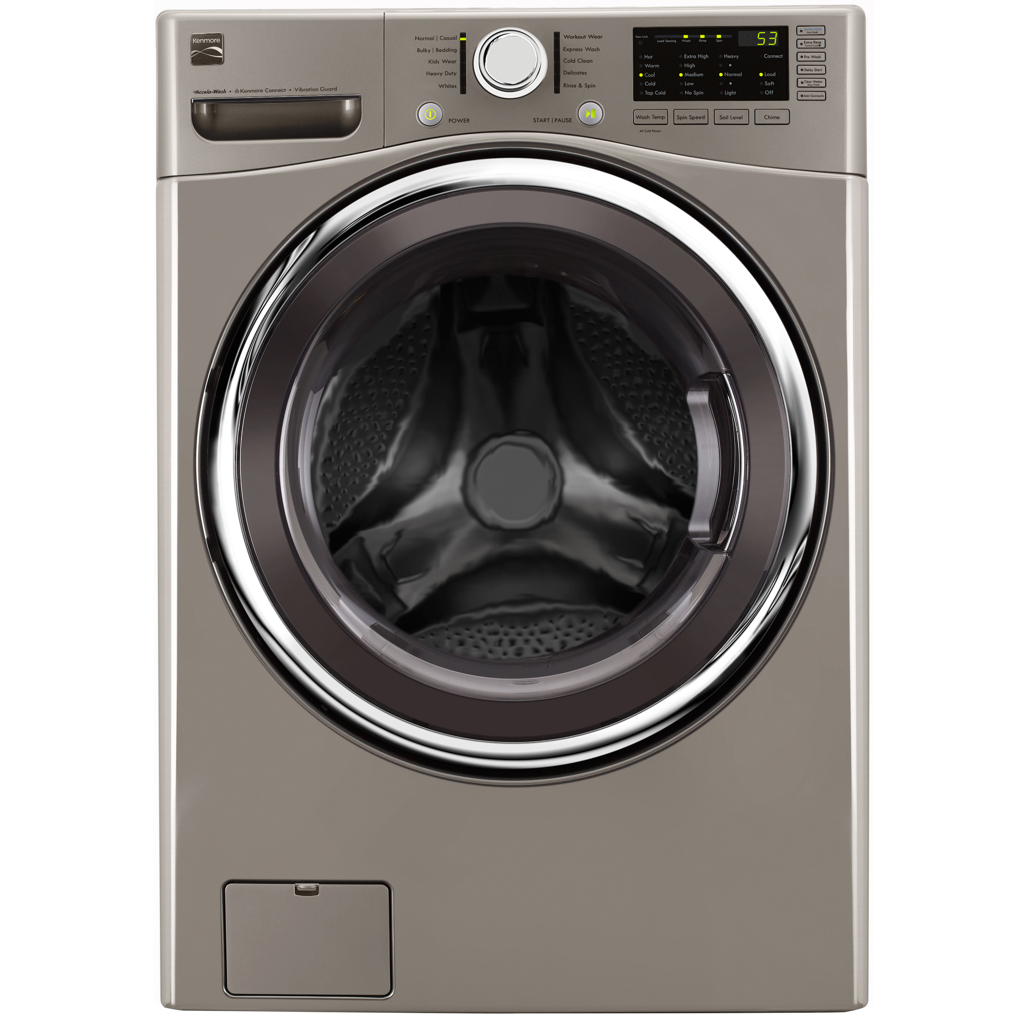 41393-4-5-cu-ft-Front-Load-Washer-w-Accela-Wash-Metallic-Silver