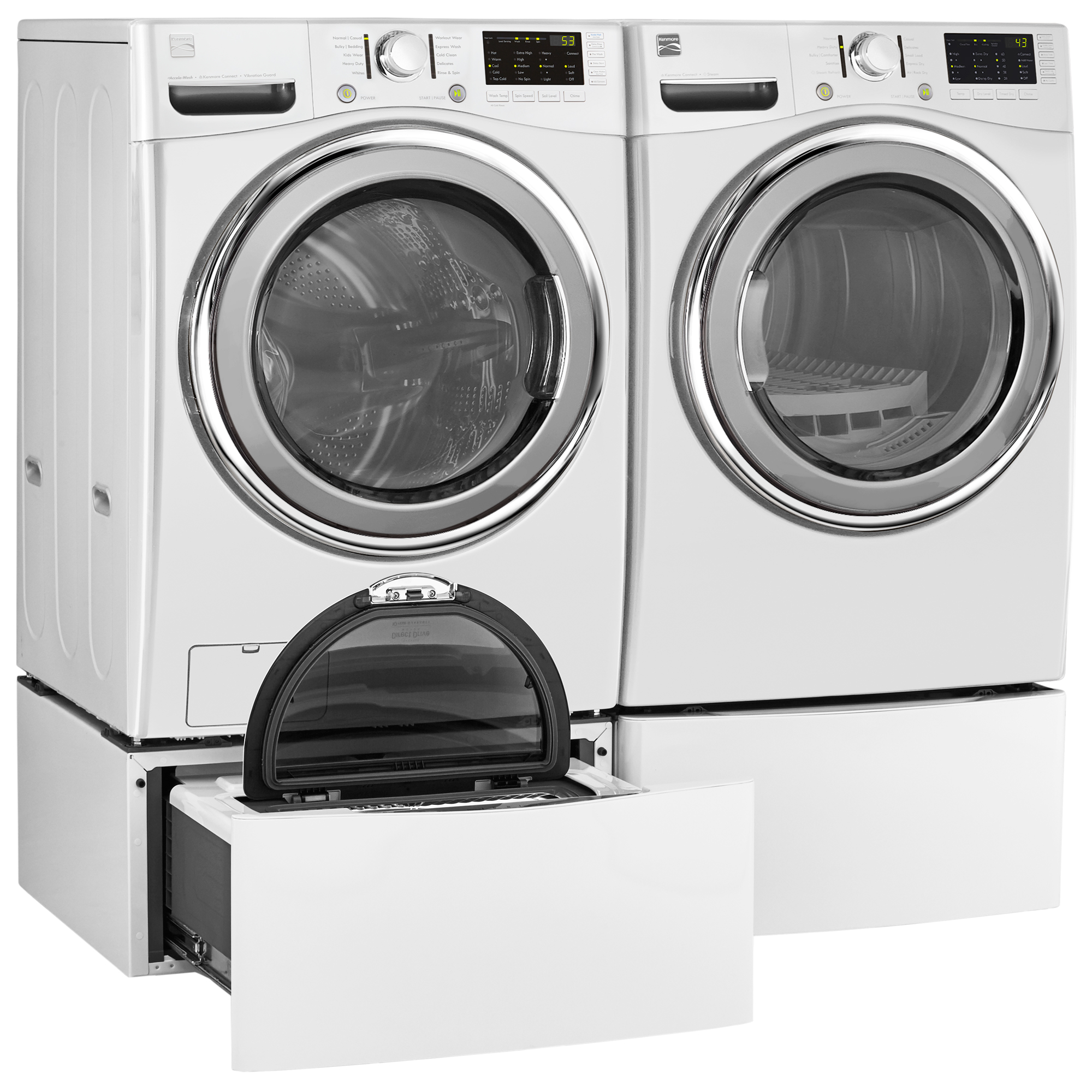 Kenmore 41392 4.5 cu. ft. Front-Load Washer w/Accela Wash® - White