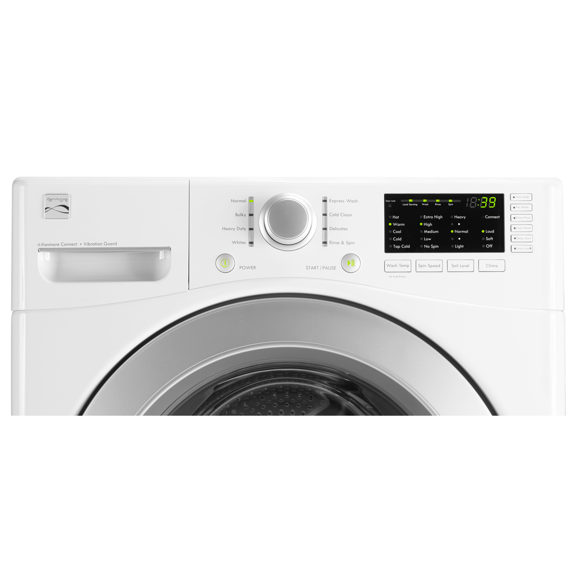 Kenmore 41162 4.3 cu. ft. Front-Load Washer