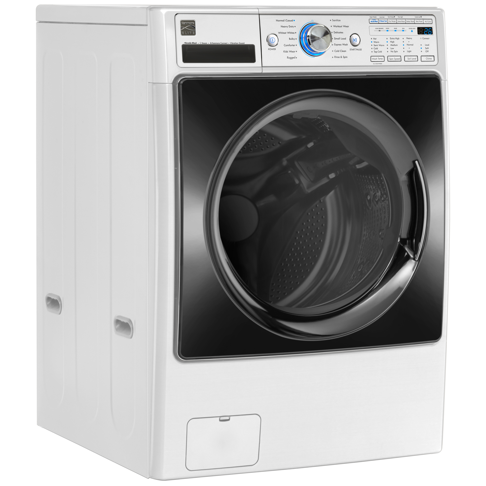 Kenmore Elite 41582 4.5 cu. ft. Front-Load Washer w/Steam & Accela Wash