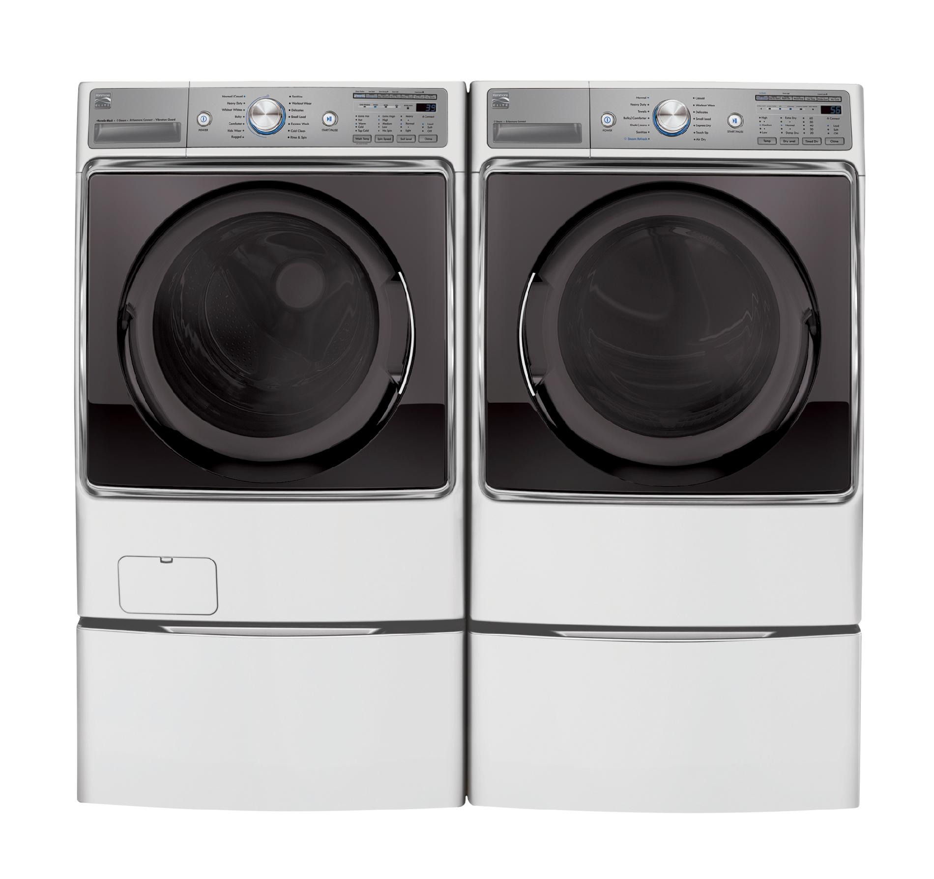 Kenmore Elite 41072 5.2 cu. ft. Front-Load Washer w/Steam Treat® - White