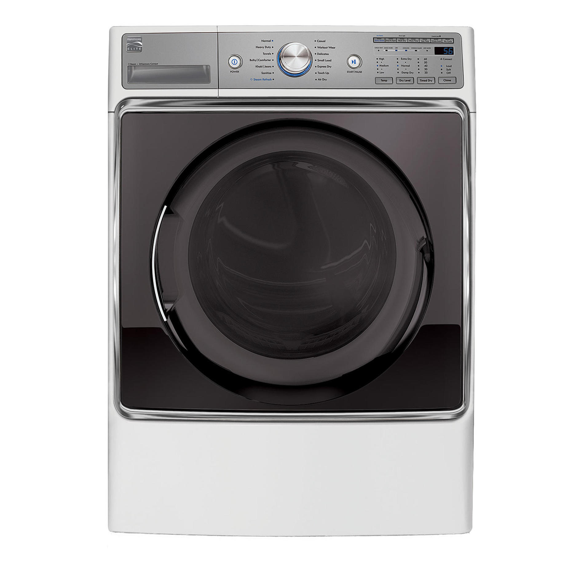 Kenmore Elite 81072 9.0 cu. ft. Electric Dryer - White