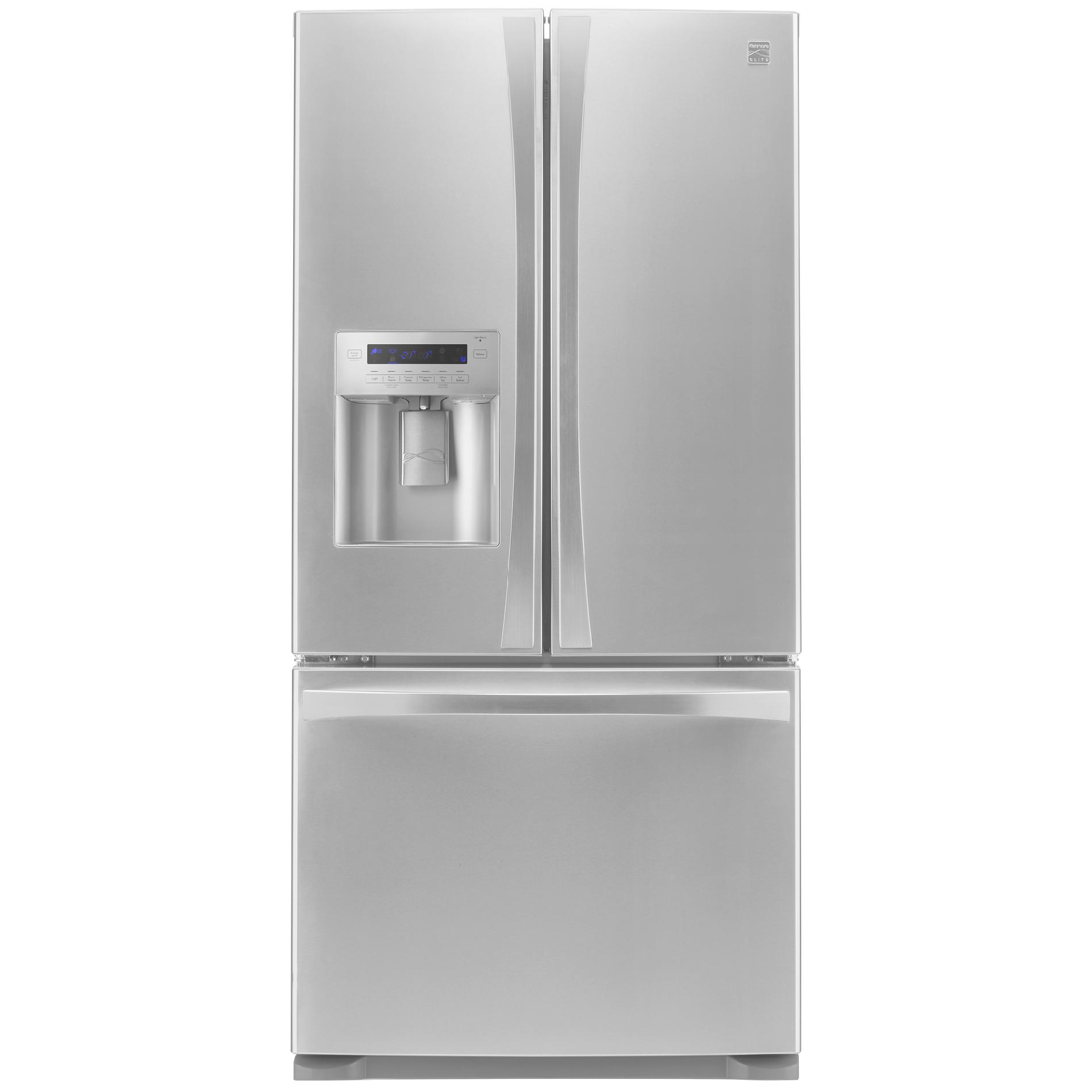 Kenmore Elite 73133 24.2 cu. ft. French Door Bottom-Freezer Refrigerator