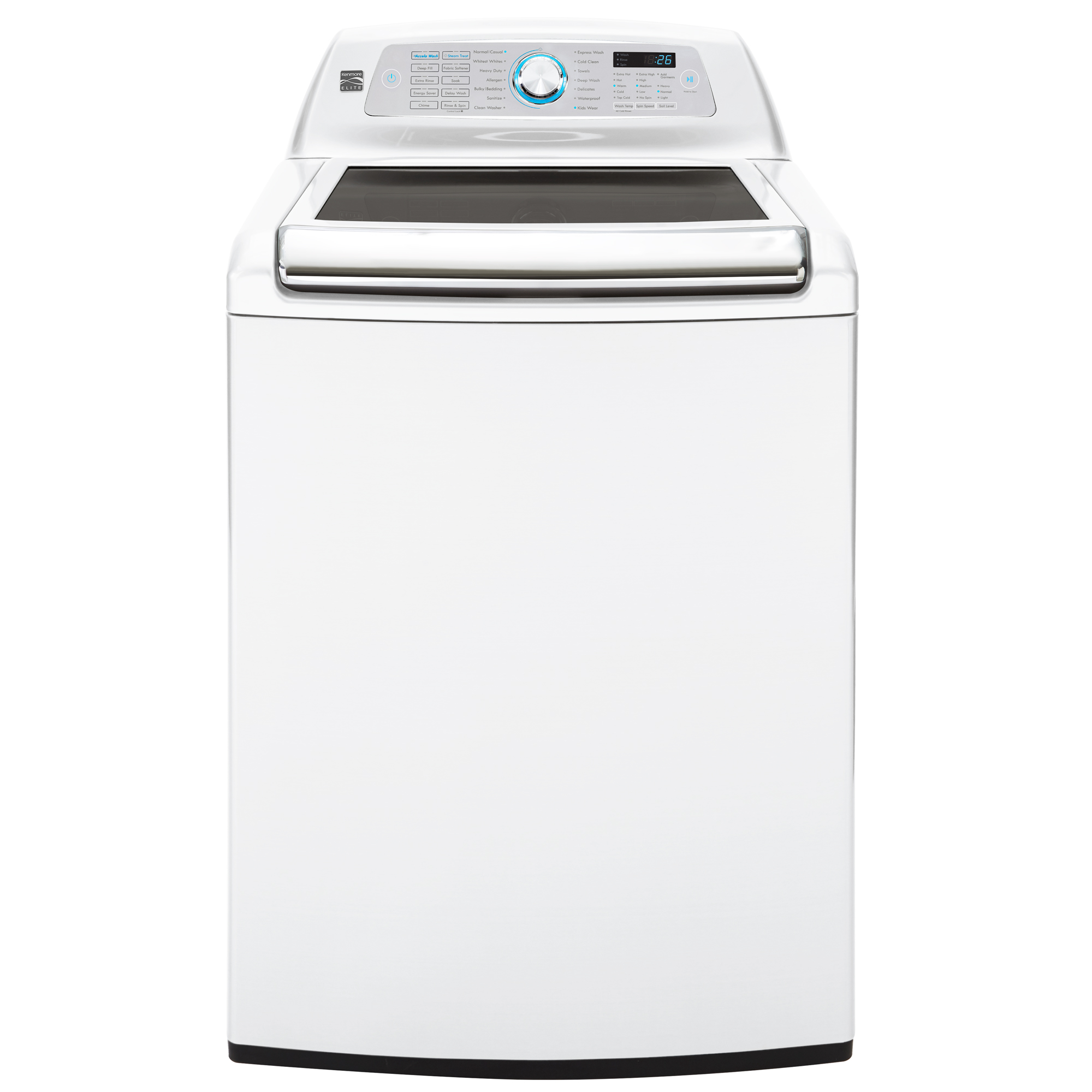 Kenmore Elite 31552 5.2 cu. ft. Top Load Washer w/Steam Treat® & Accela Wash® - White