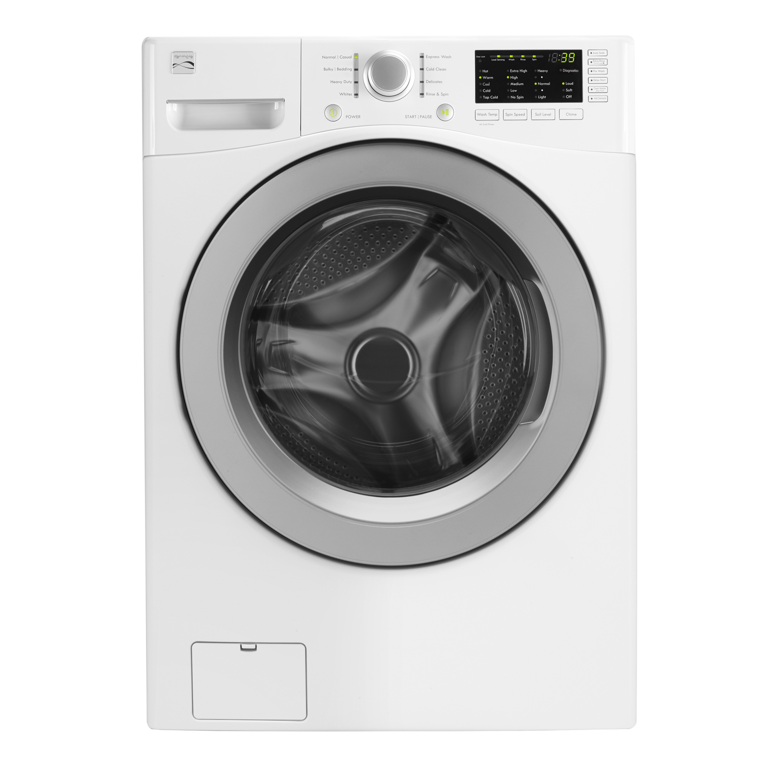 Kenmore 41262 4.5 cu. ft. Front-Load Washer - White