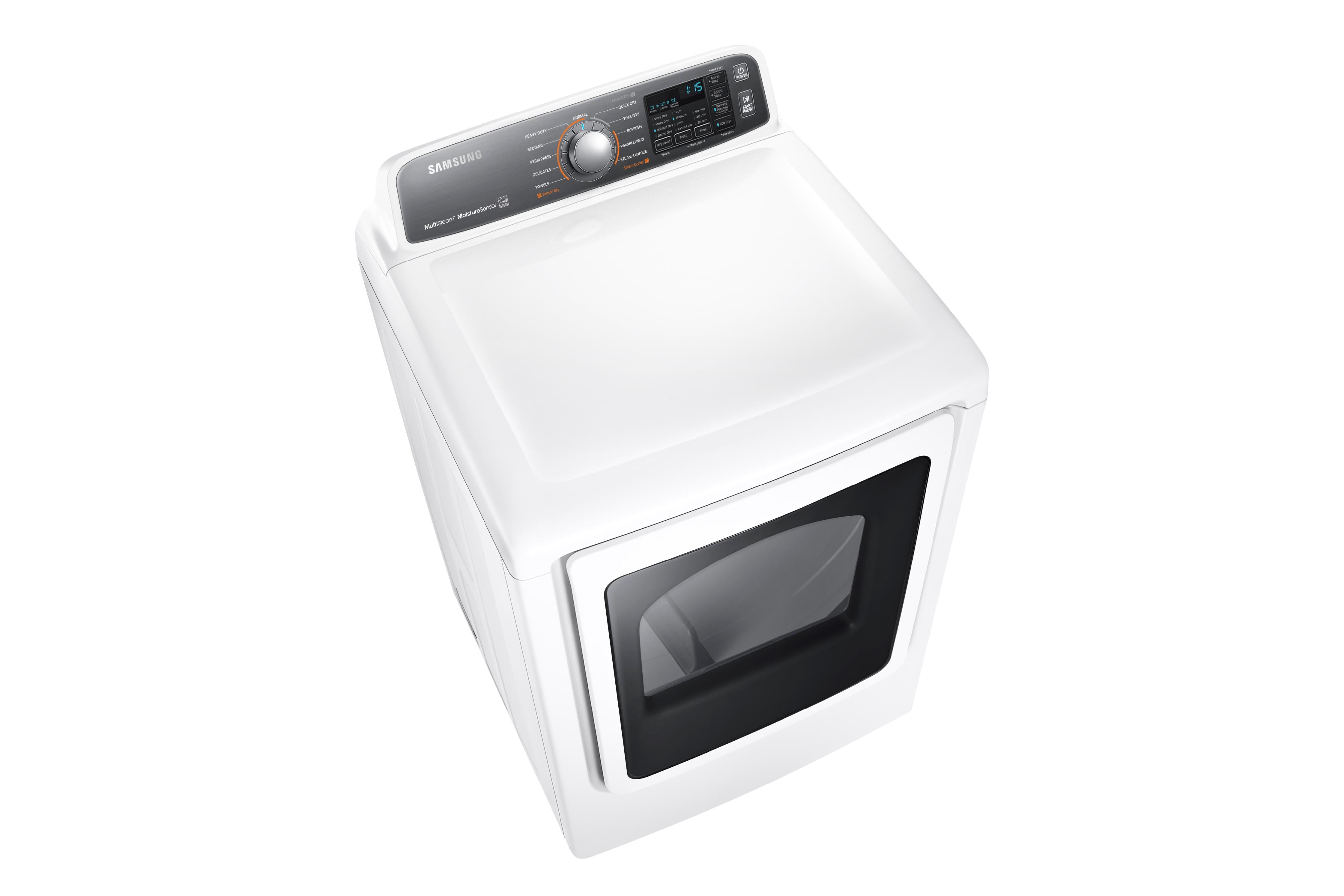 Samsung DV48J7700EW 7.4 cu. ft. Electric Dryer