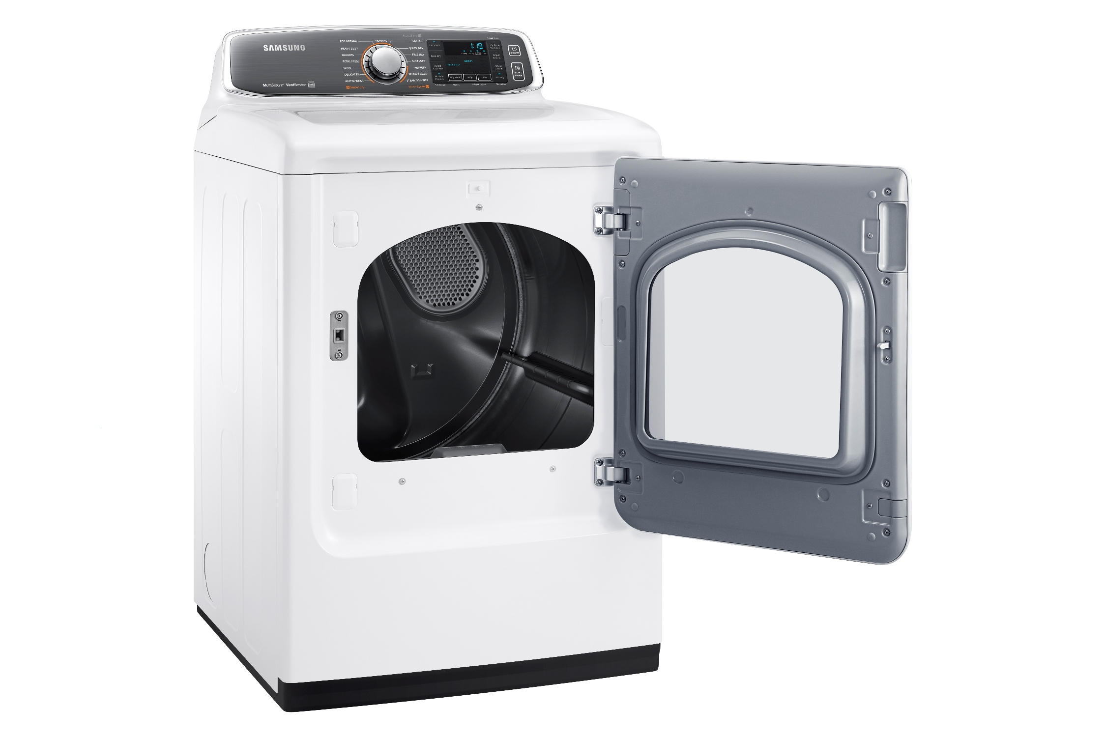 Samsung DV52J8700EW/A2 7.4 cu. ft. Large Capacity Electric Front Load Dryer White