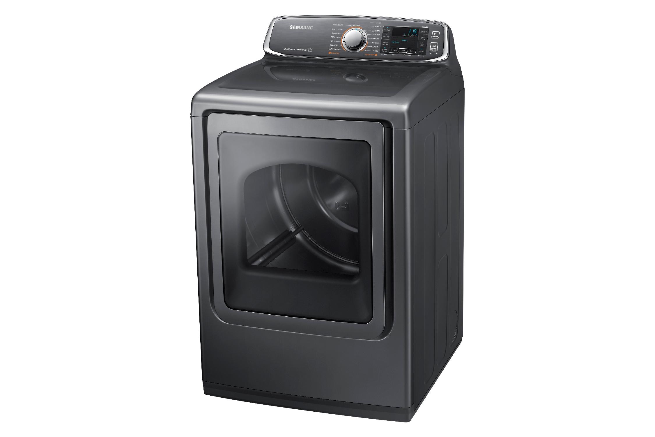 Samsung DV52J8700GP/A2 7.4 cu. ft. Large Capacity Gas Front Load Dryer Platinum