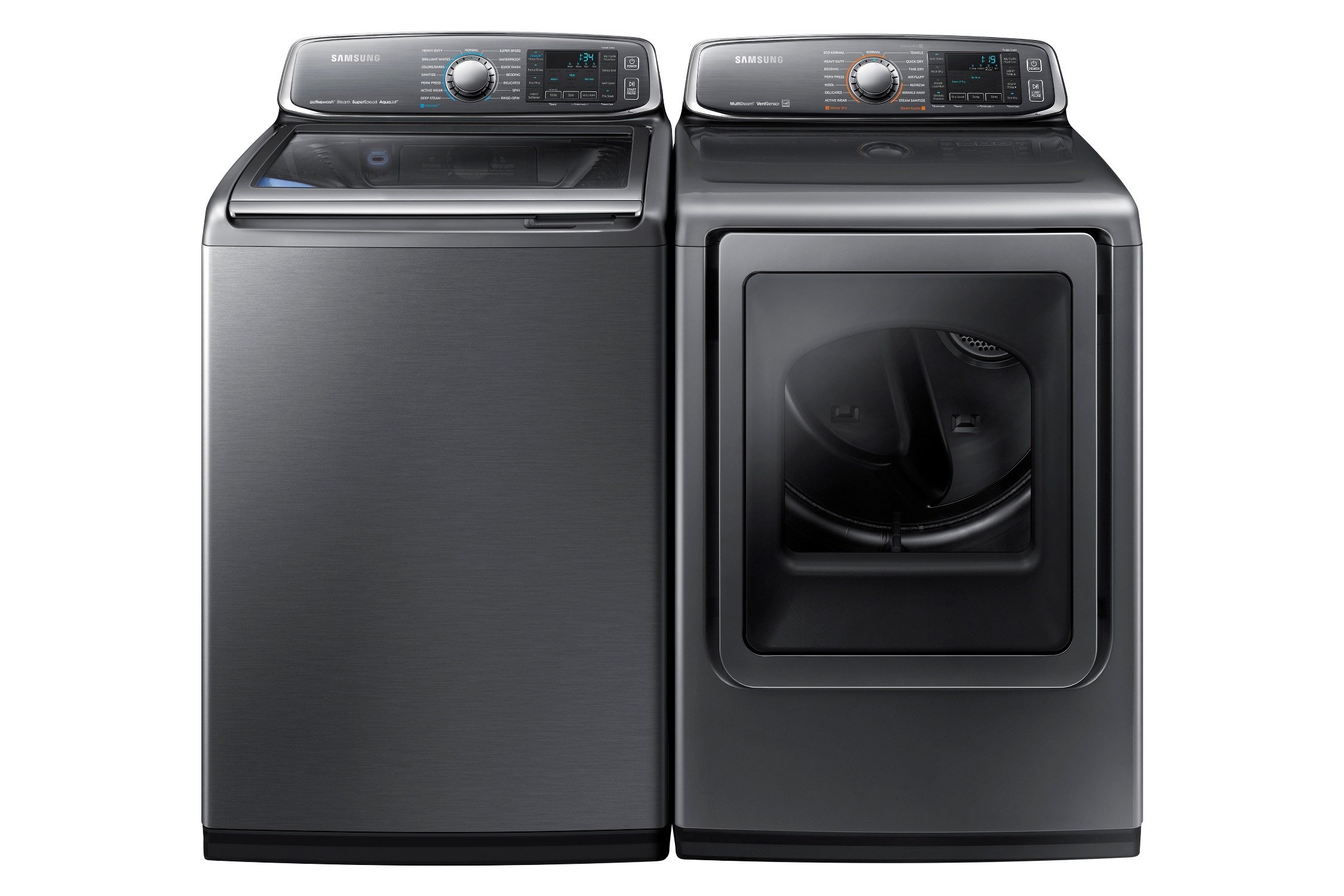 Samsung DV52J8700EP/A2 7.4 cu. ft. Large Capacity Electric Front Load Dryer Platinum