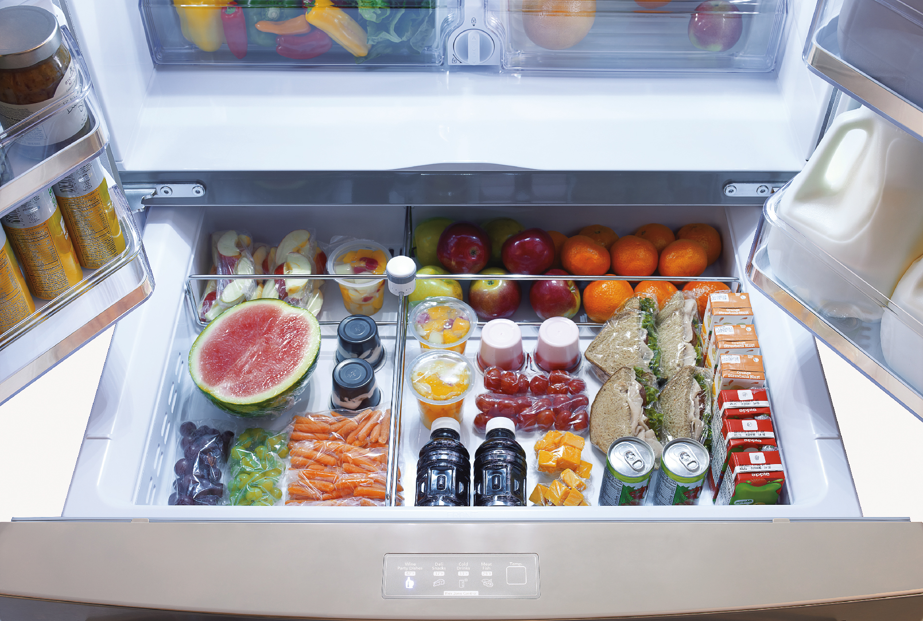 Samsung RF31FMESBSR 30.5 cu. ft. 4-Door Refrigerator w/ Automatic Sparkling Water Dispenser - Stainless Steel