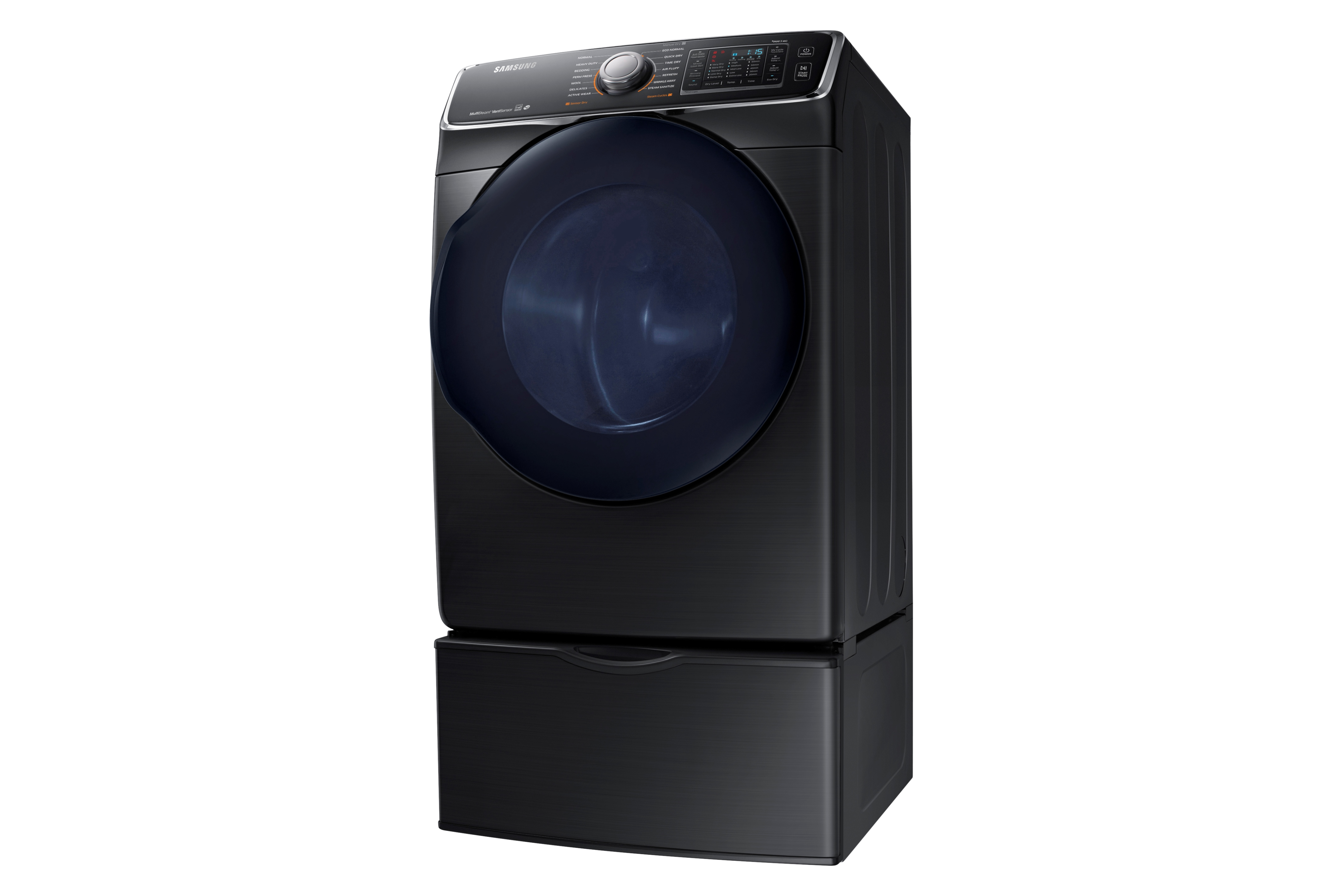 Samsung DV45K6500EV 7.5 cu. ft. Capacity Electric Dryer Black Stainless