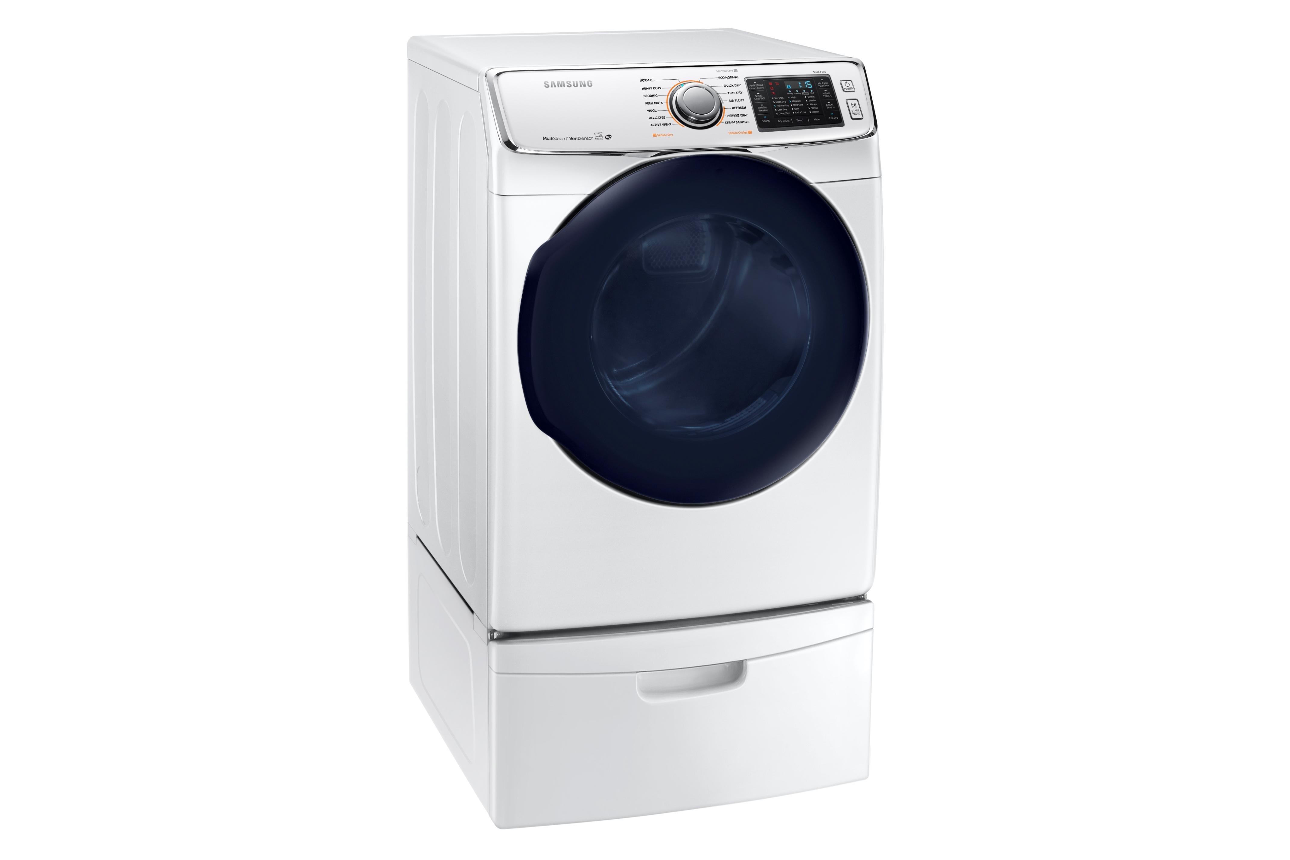 Samsung DV45K6500GW 7.5 cu. ft. Capacity Gas Dryer White