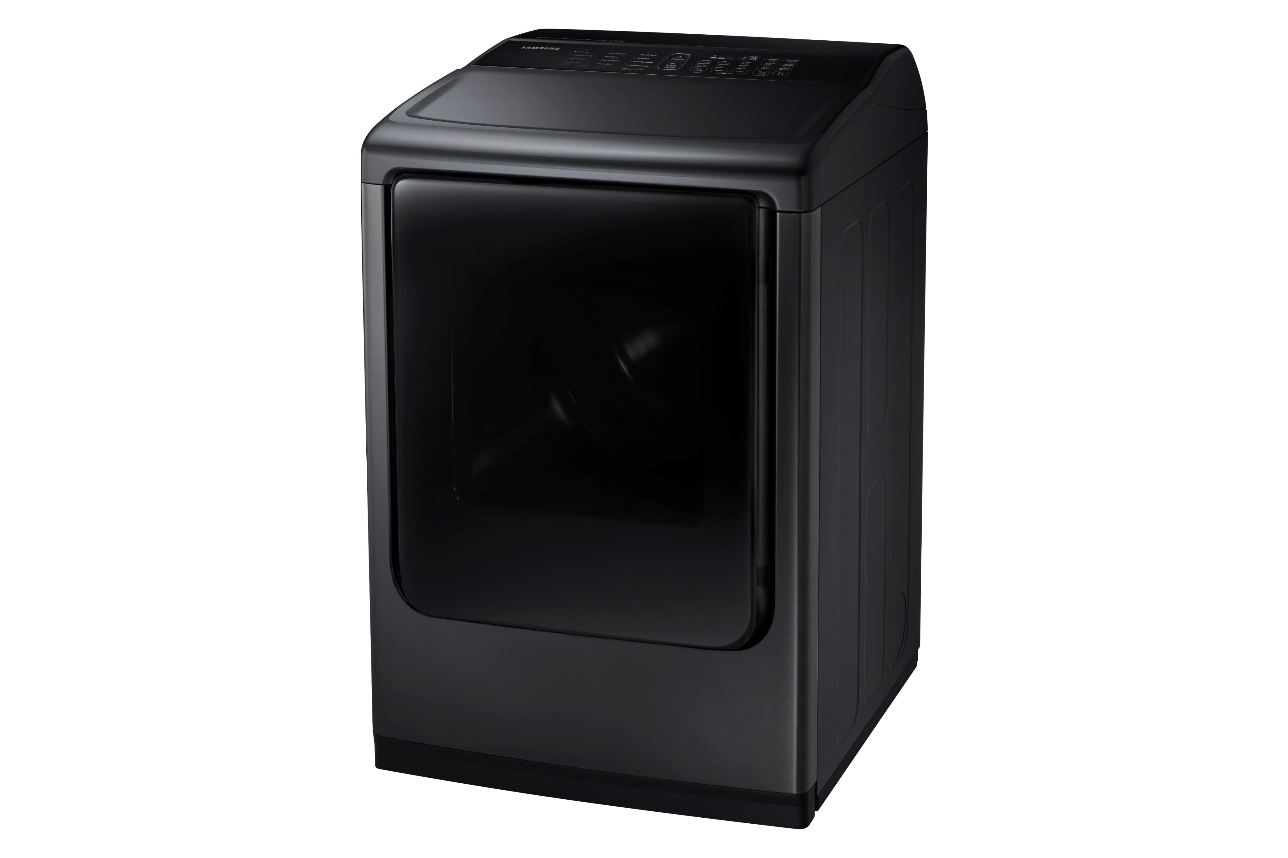 Samsung DV50K8600EV 7.4 cu. ft. Large Capacity Electric Front Load Dryer Black Stainless Steel