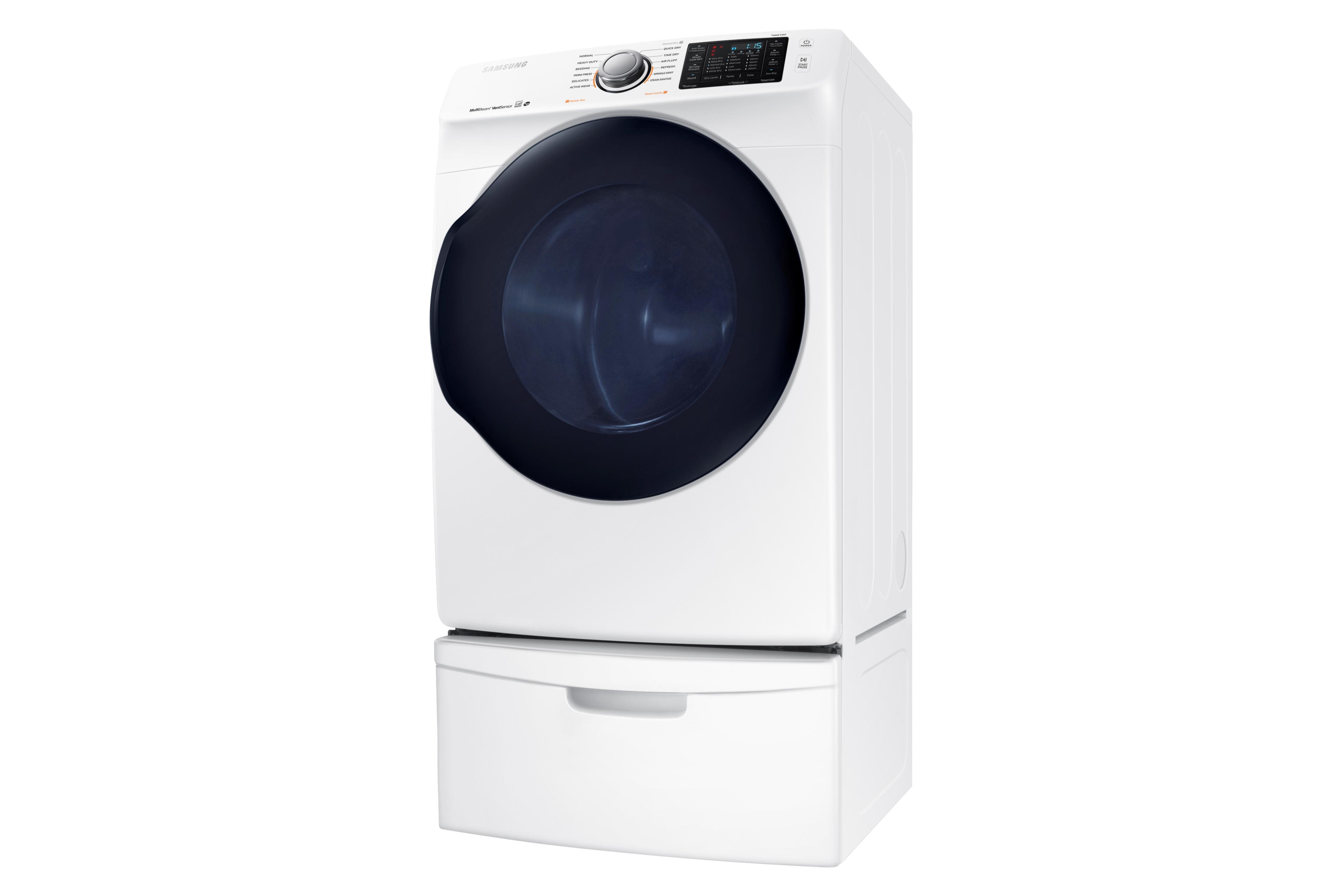 Samsung DV45K6200EW 7.5 cu. ft. Capacity Electric Dryer (White)