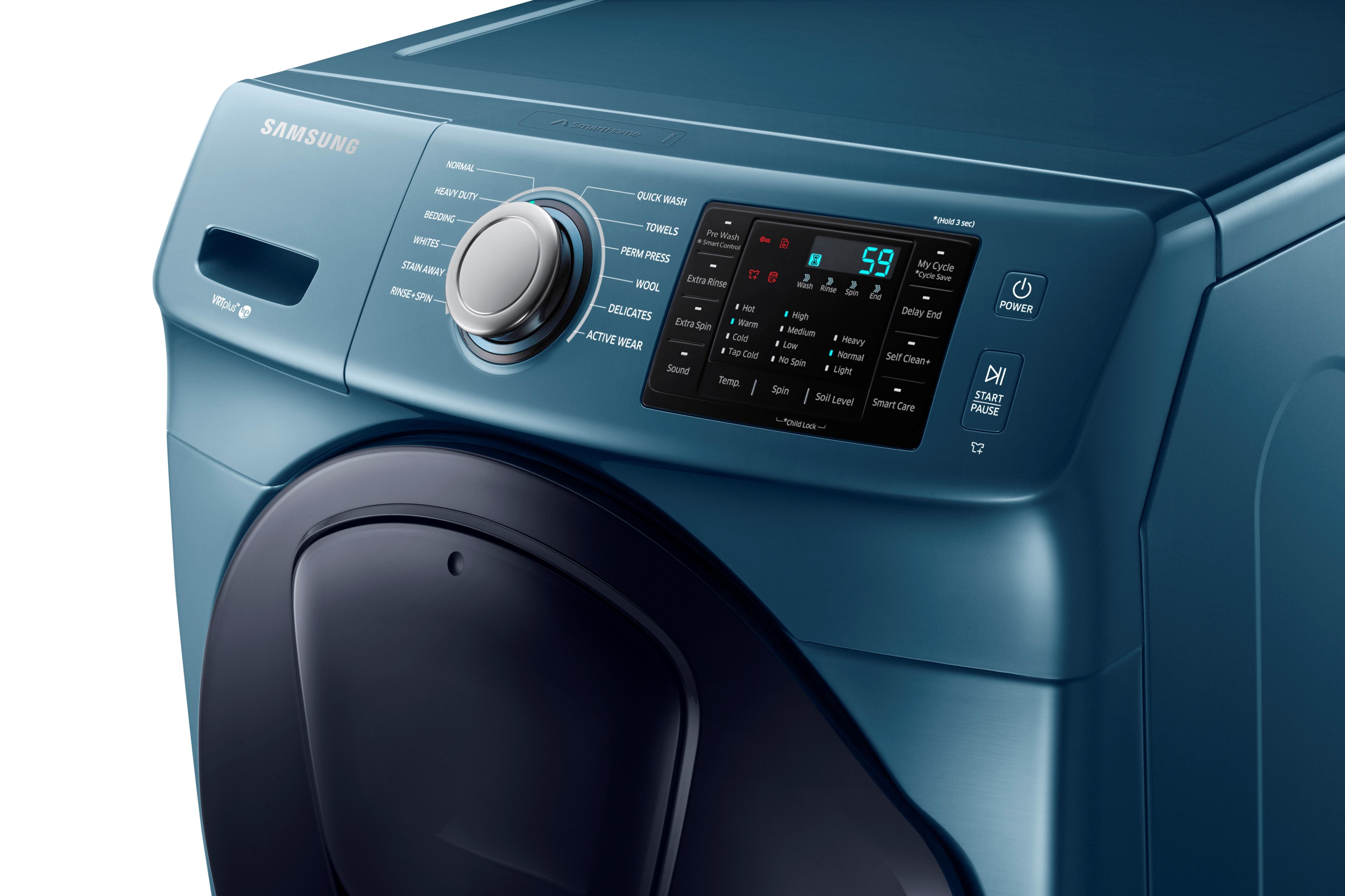 Samsung WF45K6200AZ 4.5 cu. ft. AddWash™ Front Load Washer Azure Blue