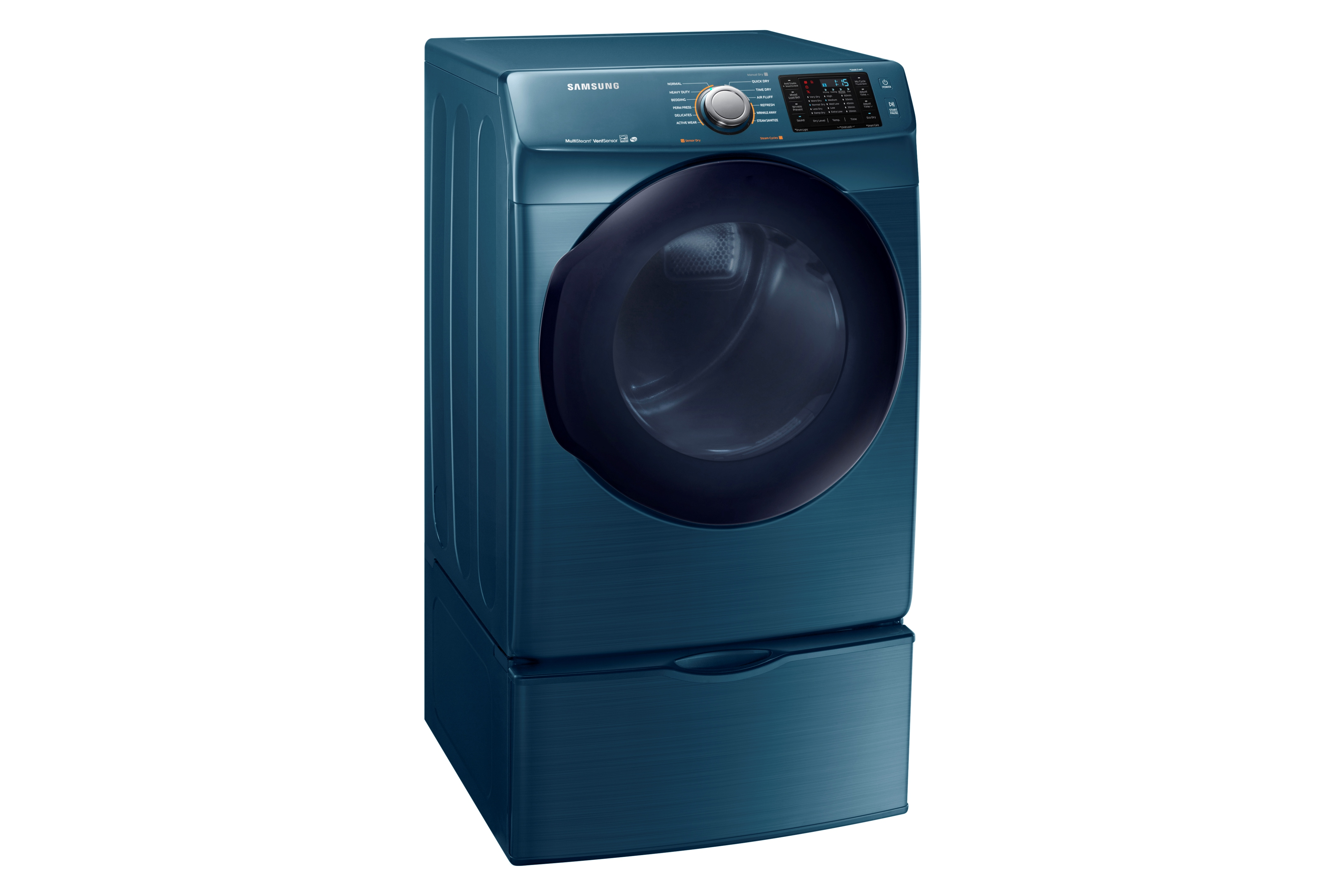 Samsung DV45K6200EZ 7.5 cu. ft. Capacity Electric Dryer Azure Blue