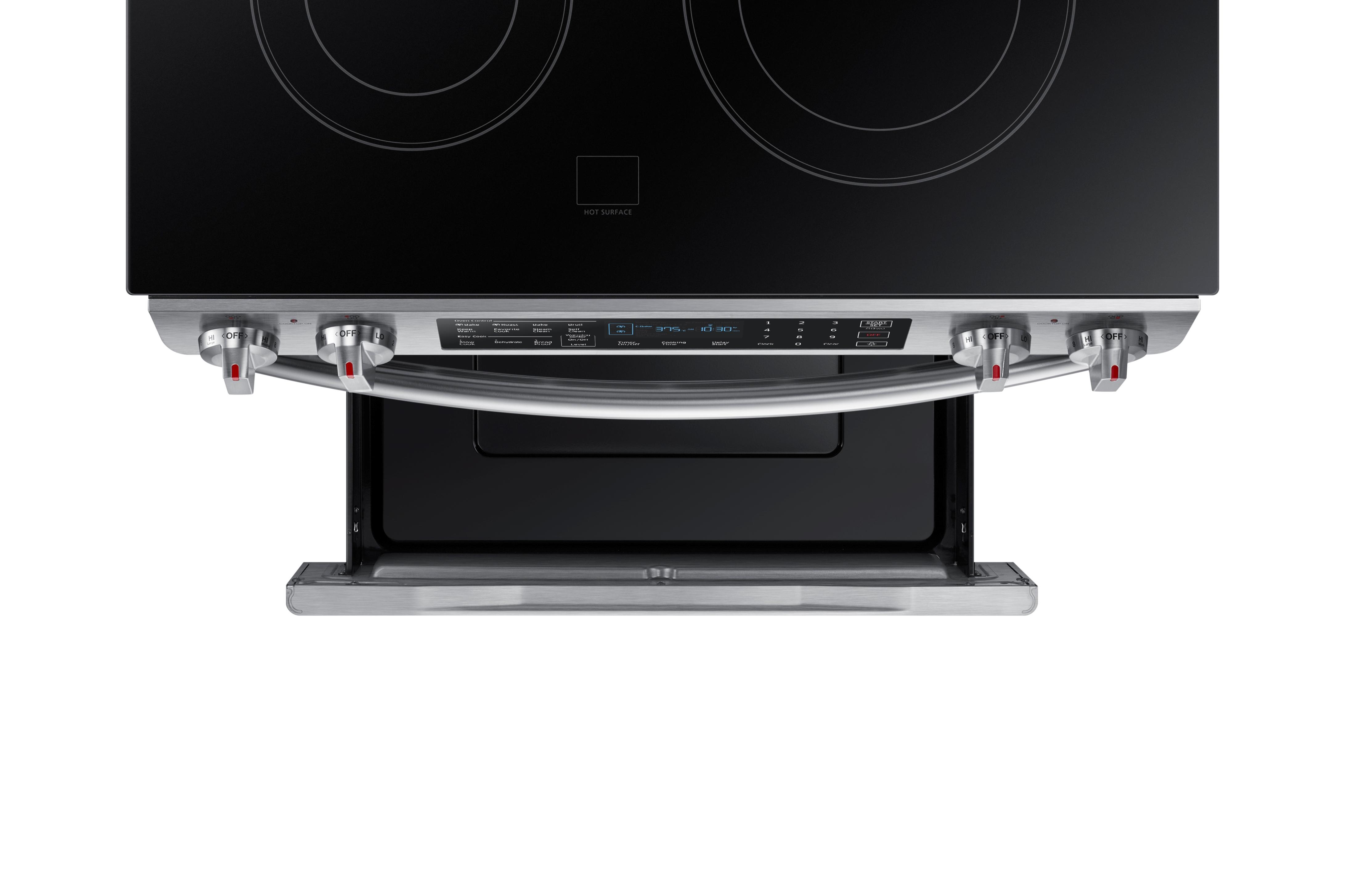 Samsung NE58K9430SS 5.8 cu. ft. Slide-In Electric Range