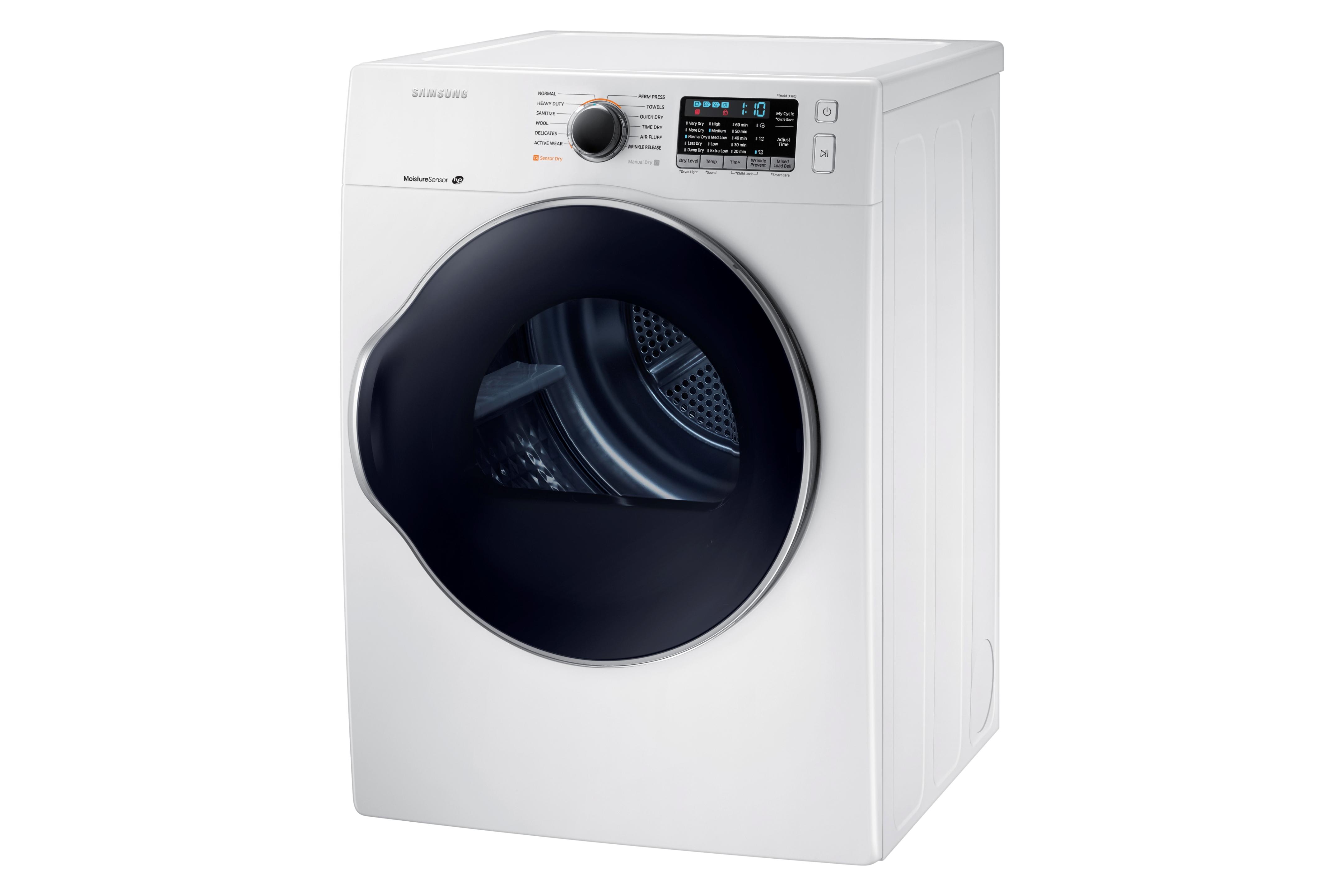 Samsung DV22K6800EW 4.0 cu. ft. Capacity Electric Dryer White