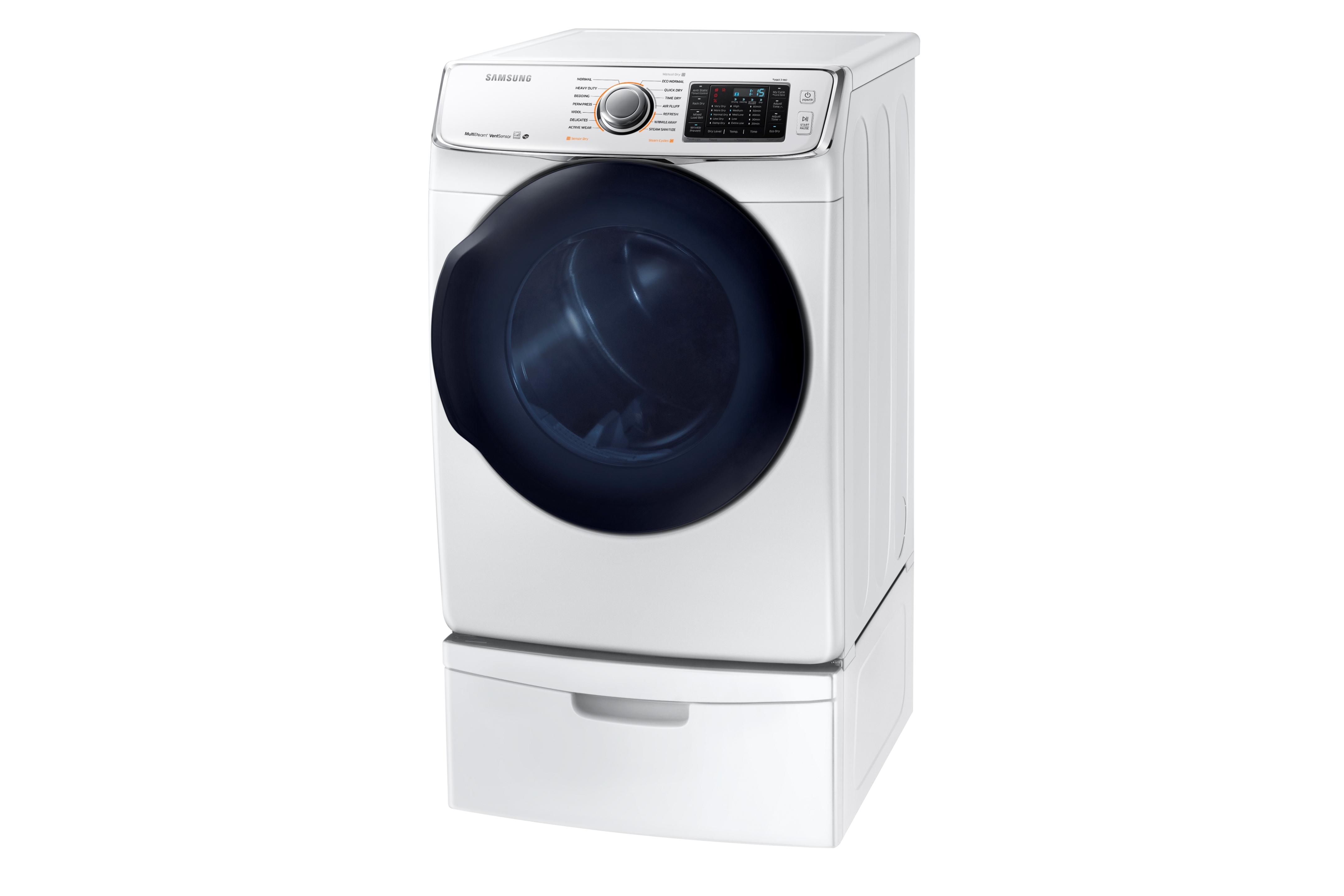 Samsung DV50K7500GW 7.5 cu. ft. Capacity Gas Dryer White