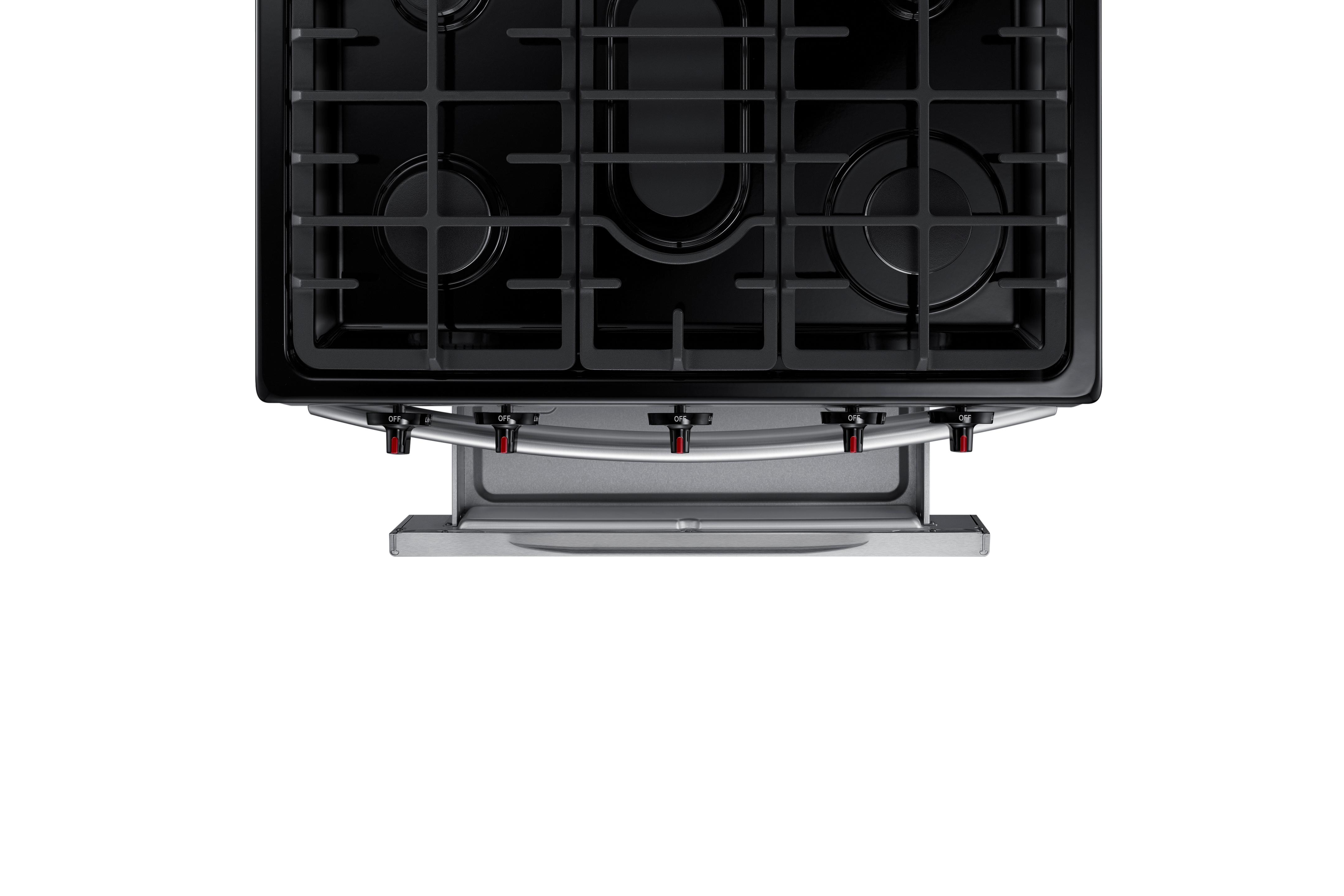 Samsung 5.8 cu. ft. Freestanding Gas Range Stainless Steel