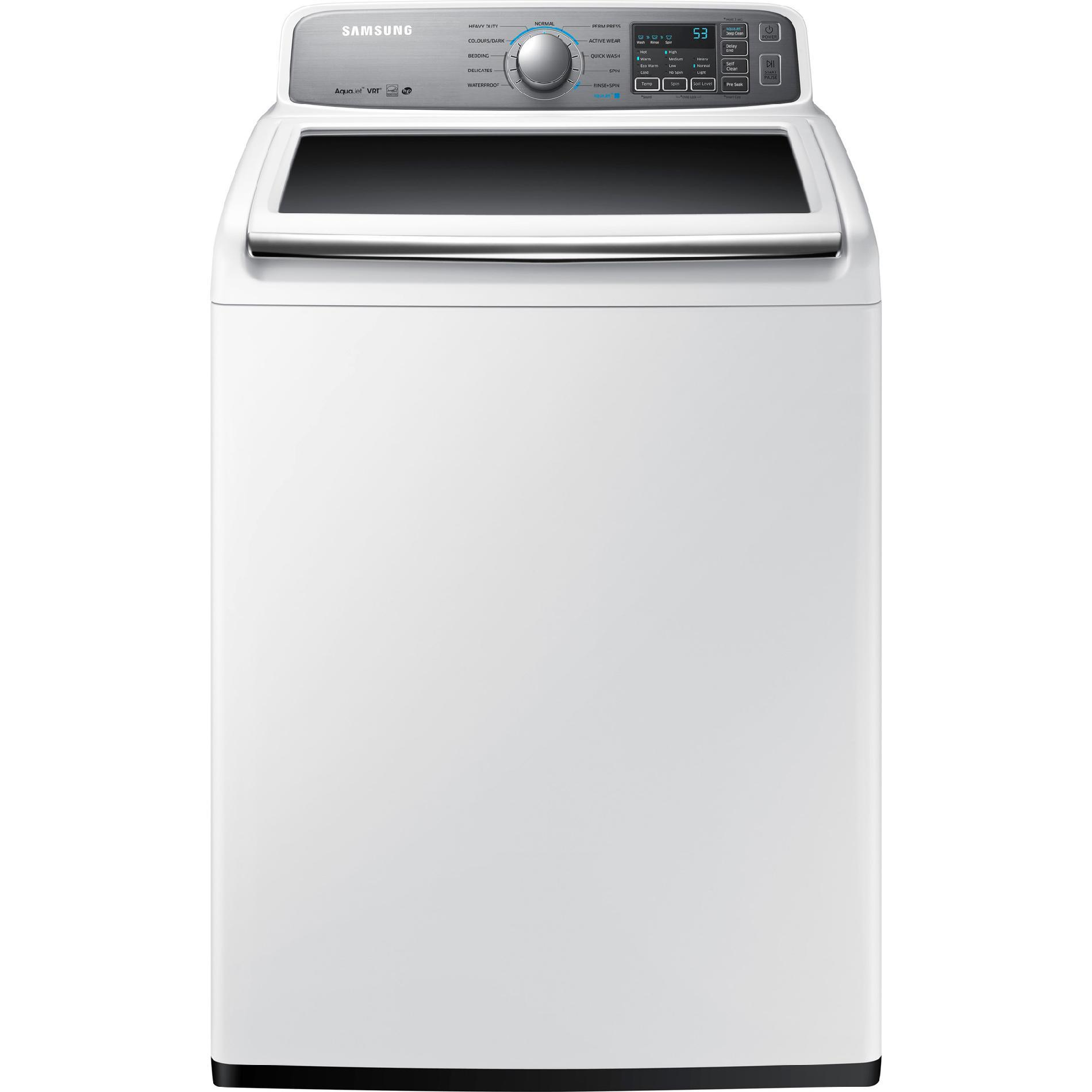 Samsung WA48H7400AW 4.8 cu. ft. Top-Load Washer - White