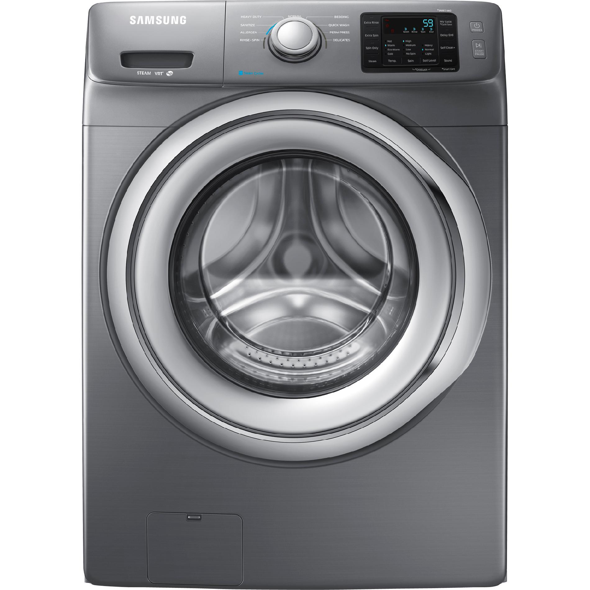 WF42H5200AP-4-2-cu-ft-Front-Load-Washer-w-Steam-Washing-Stainless-Platinum