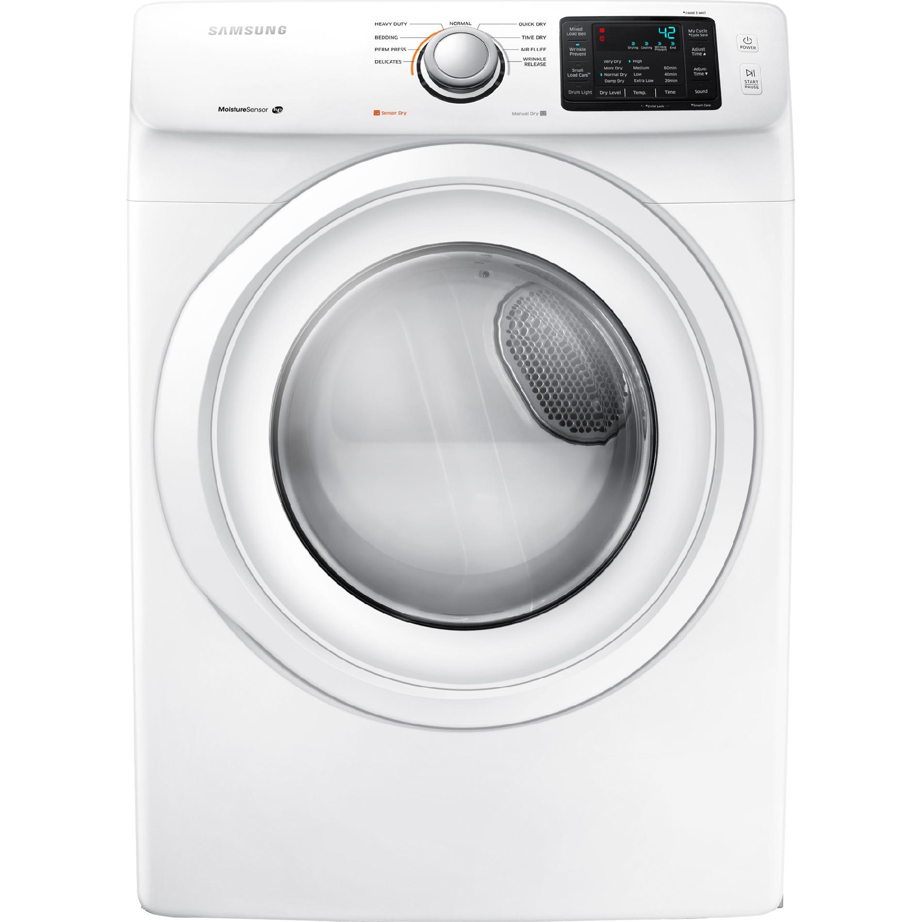DV42H5000EW-7-5-cu-ft-Front-Load-Electric-Dryer-White